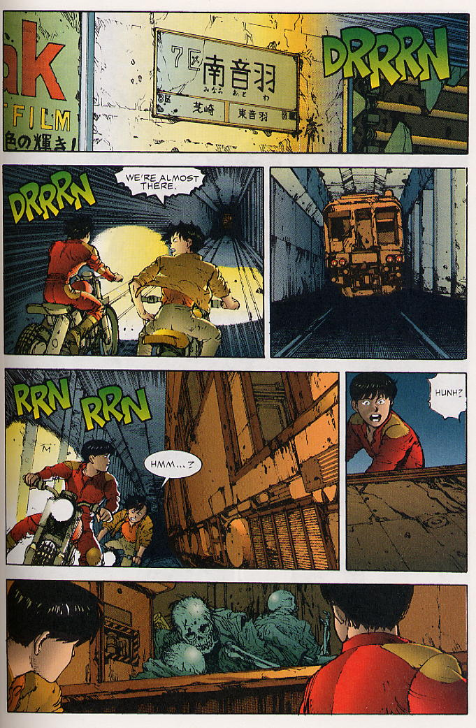 Read online Akira comic -  Issue #25 - 38