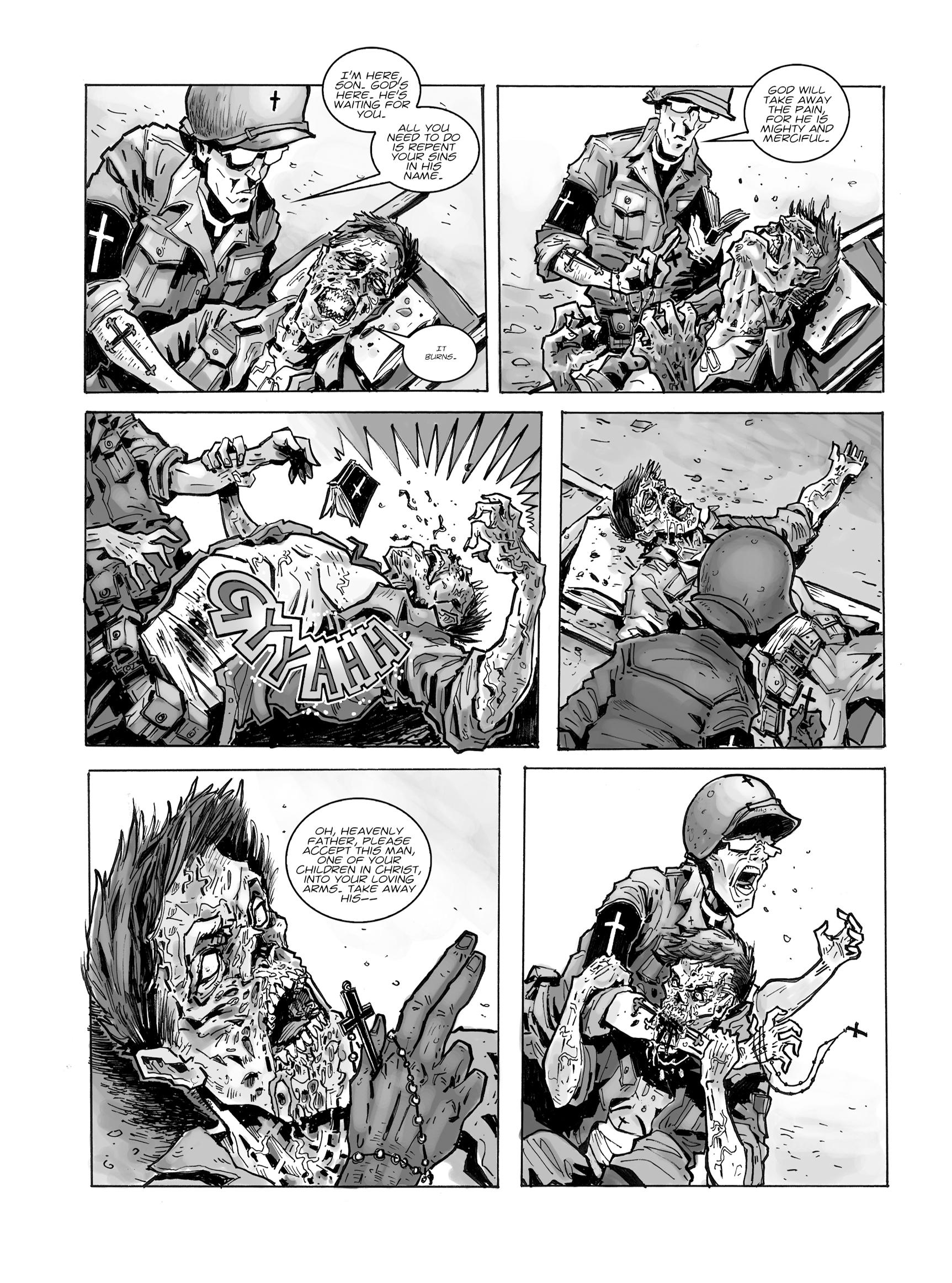 Read online FUBAR comic -  Issue #1 - 26