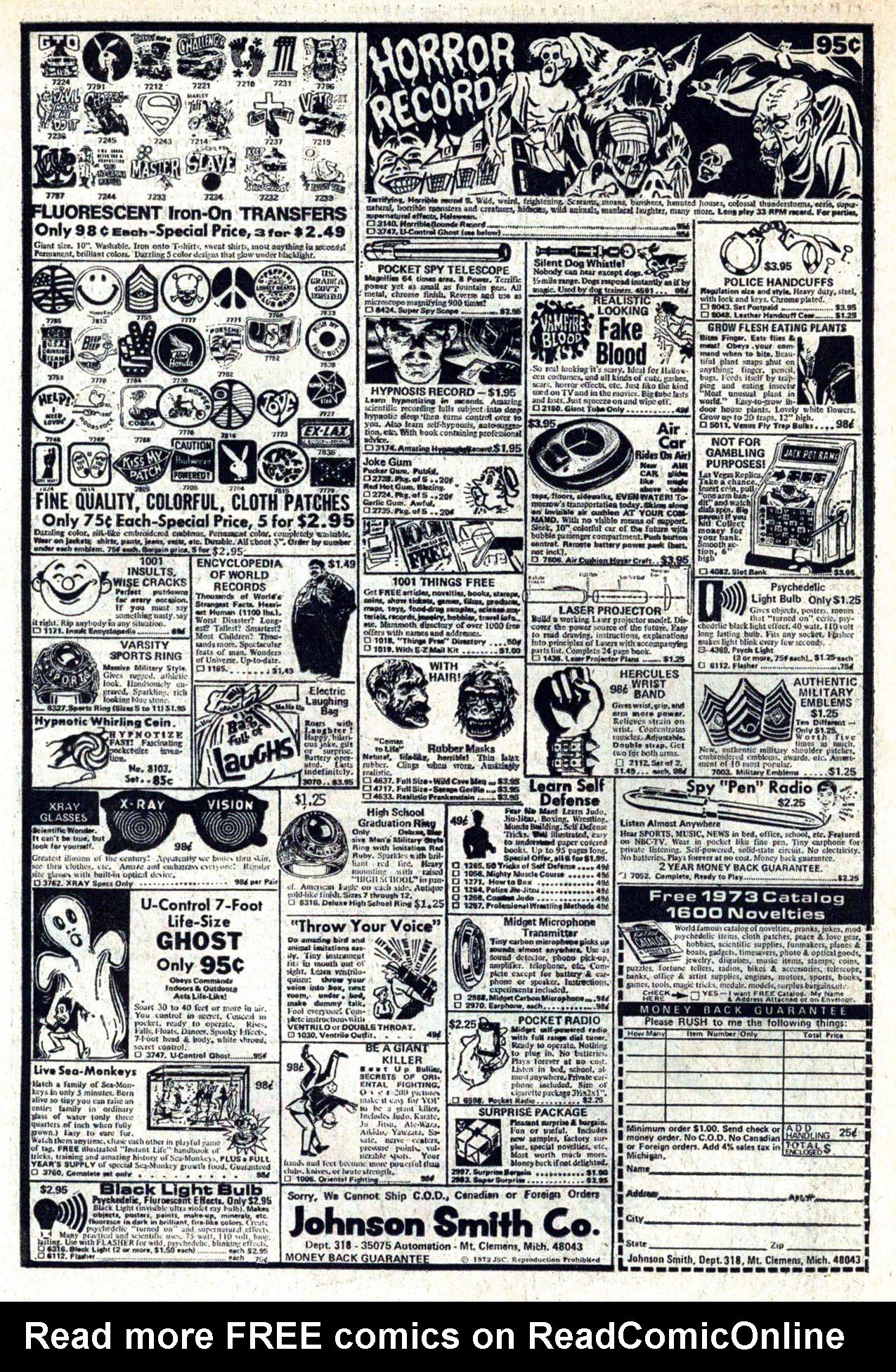 Read online Amazing Adventures (1970) comic -  Issue #20 - 34