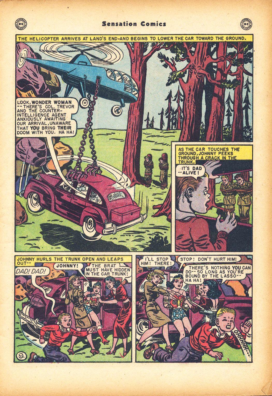Read online Sensation (Mystery) Comics comic -  Issue #78 - 11