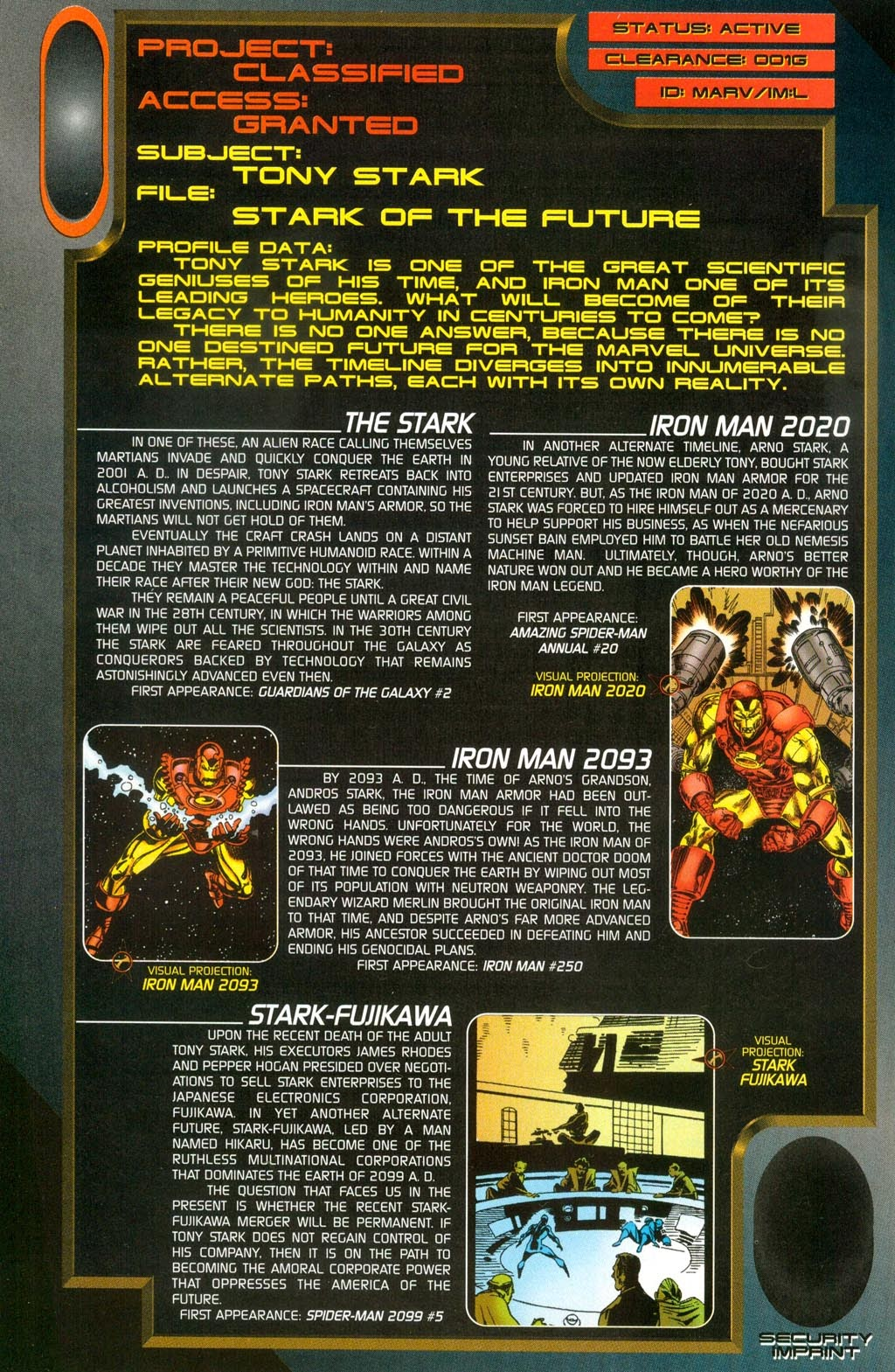 Read online Iron Man: The Legend comic -  Issue # Full - 45