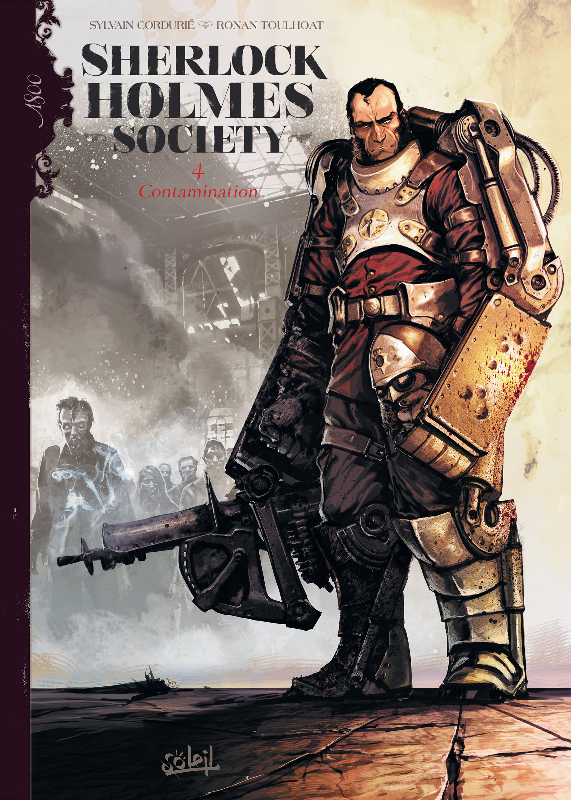 Read online Sherlock Holmes Society Tome 4 : Contamination comic -  Issue # Full - 1