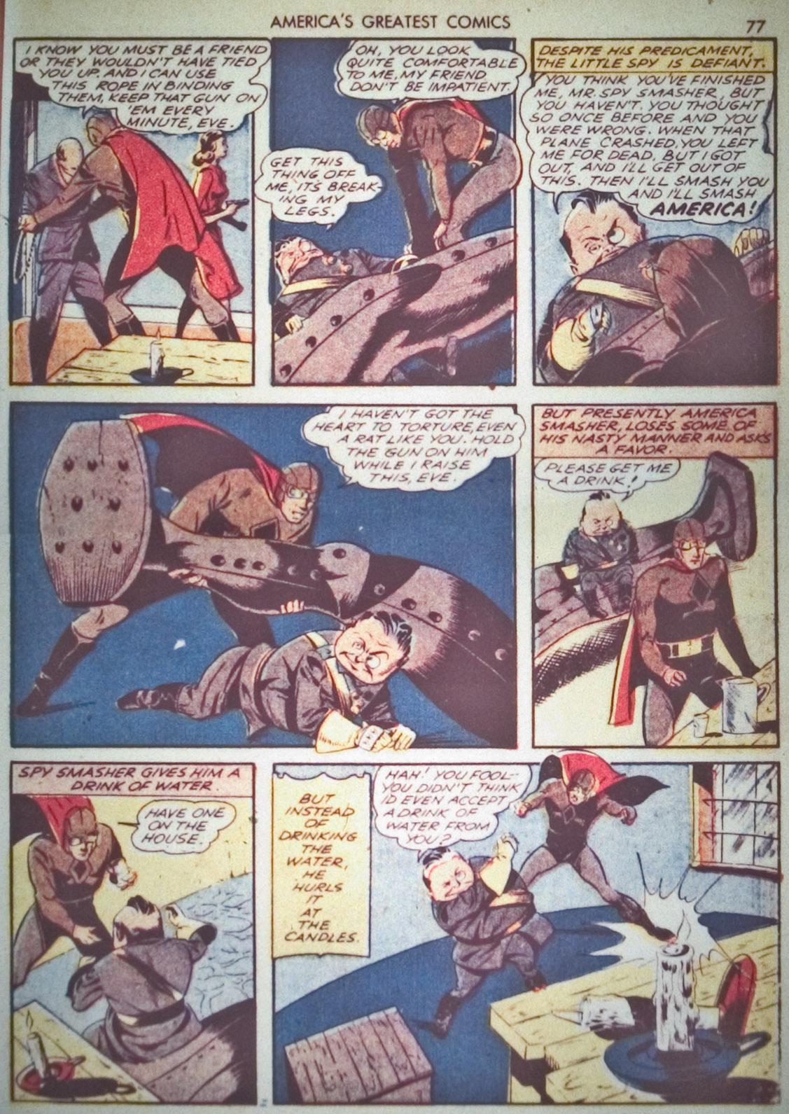 Read online America's Greatest Comics comic -  Issue #1 - 80