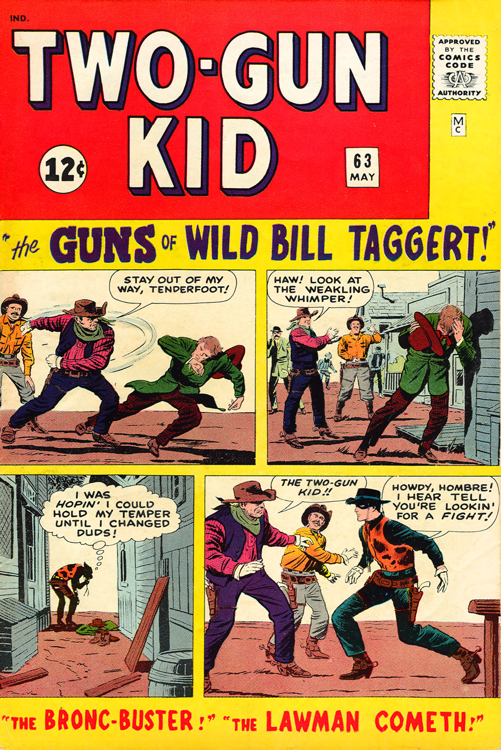Read online Two-Gun Kid comic -  Issue #63 - 1