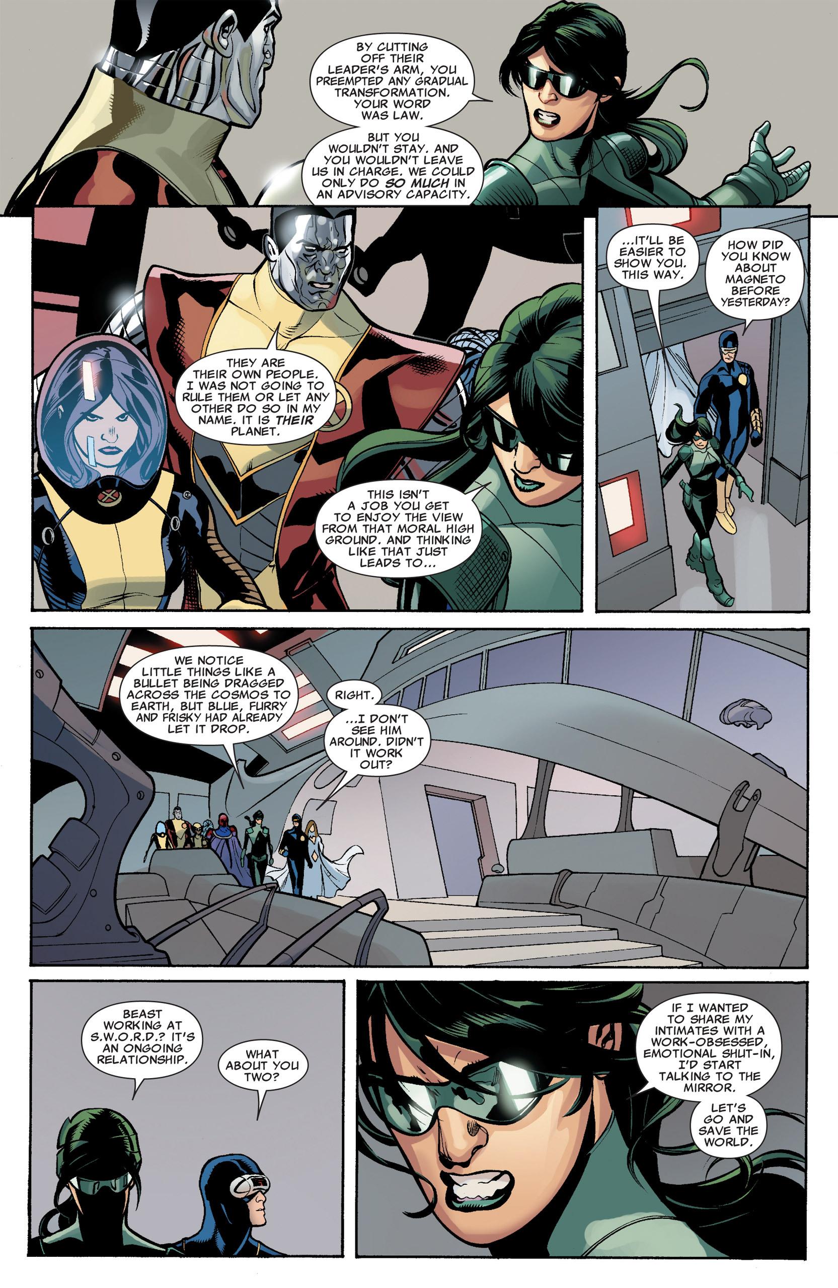 Read online Uncanny X-Men (1963) comic -  Issue #535 - 18