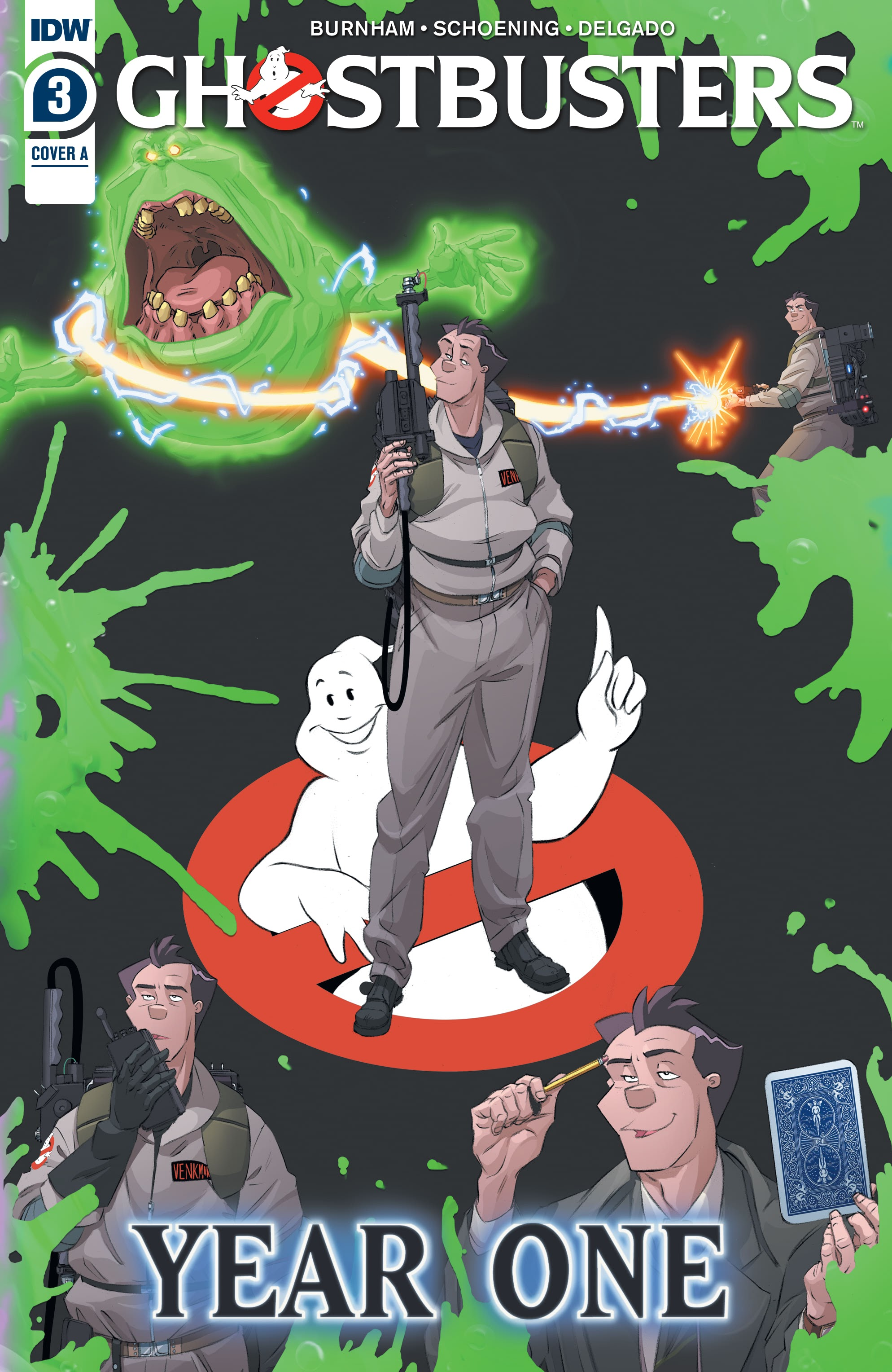 Ghostbusters: Year One 3 Page 1