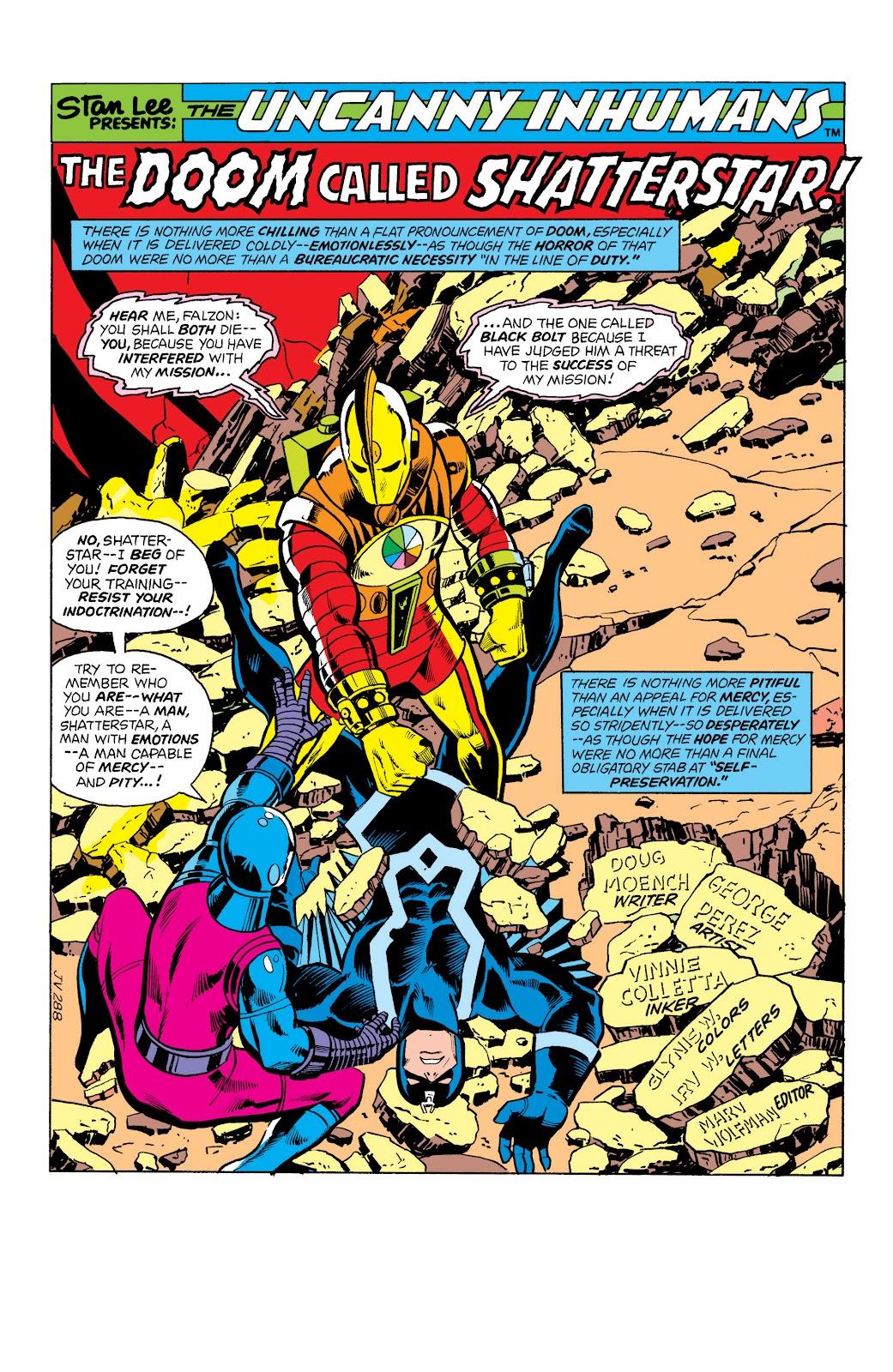 Read online Marvel Masterworks: The Inhumans comic -  Issue # TPB 2 (Part 1) - 65