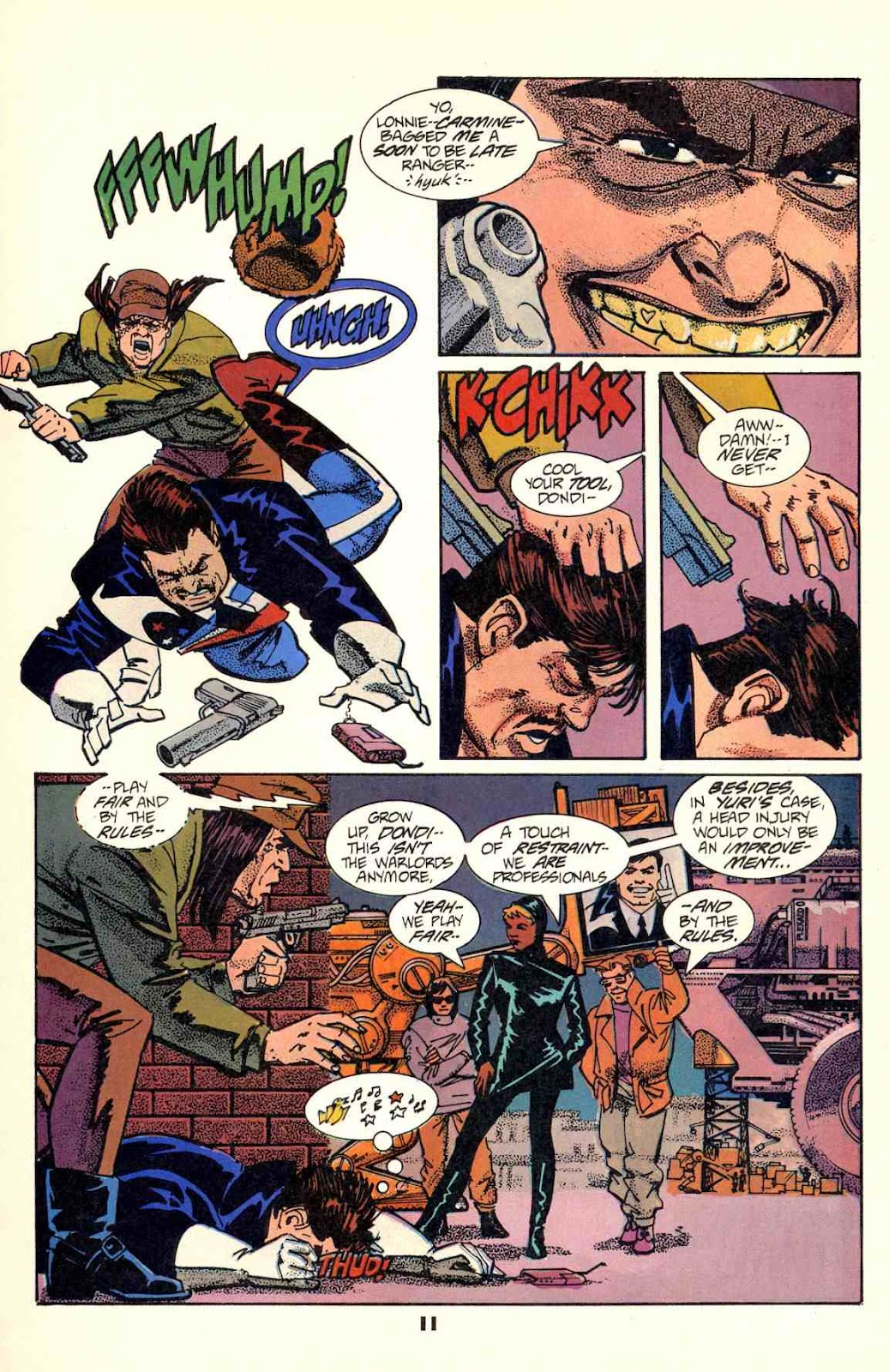 Howard Chaykin's American Flagg issue 2 - Page 13
