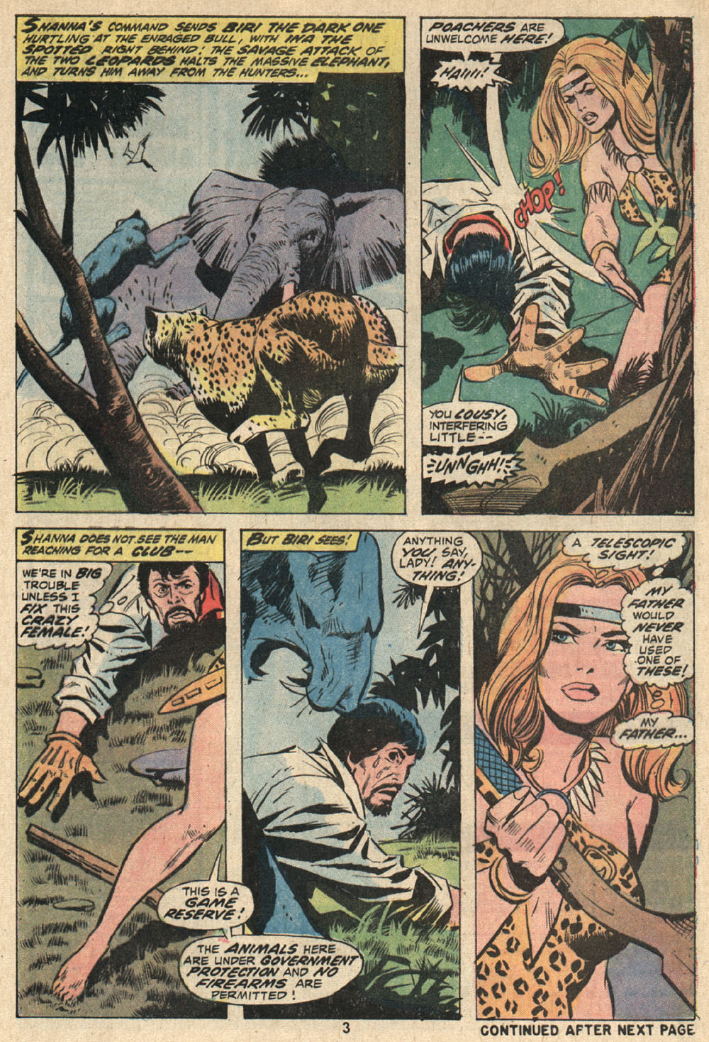 Read online Shanna, the She-Devil (1972) comic -  Issue #1 - 4