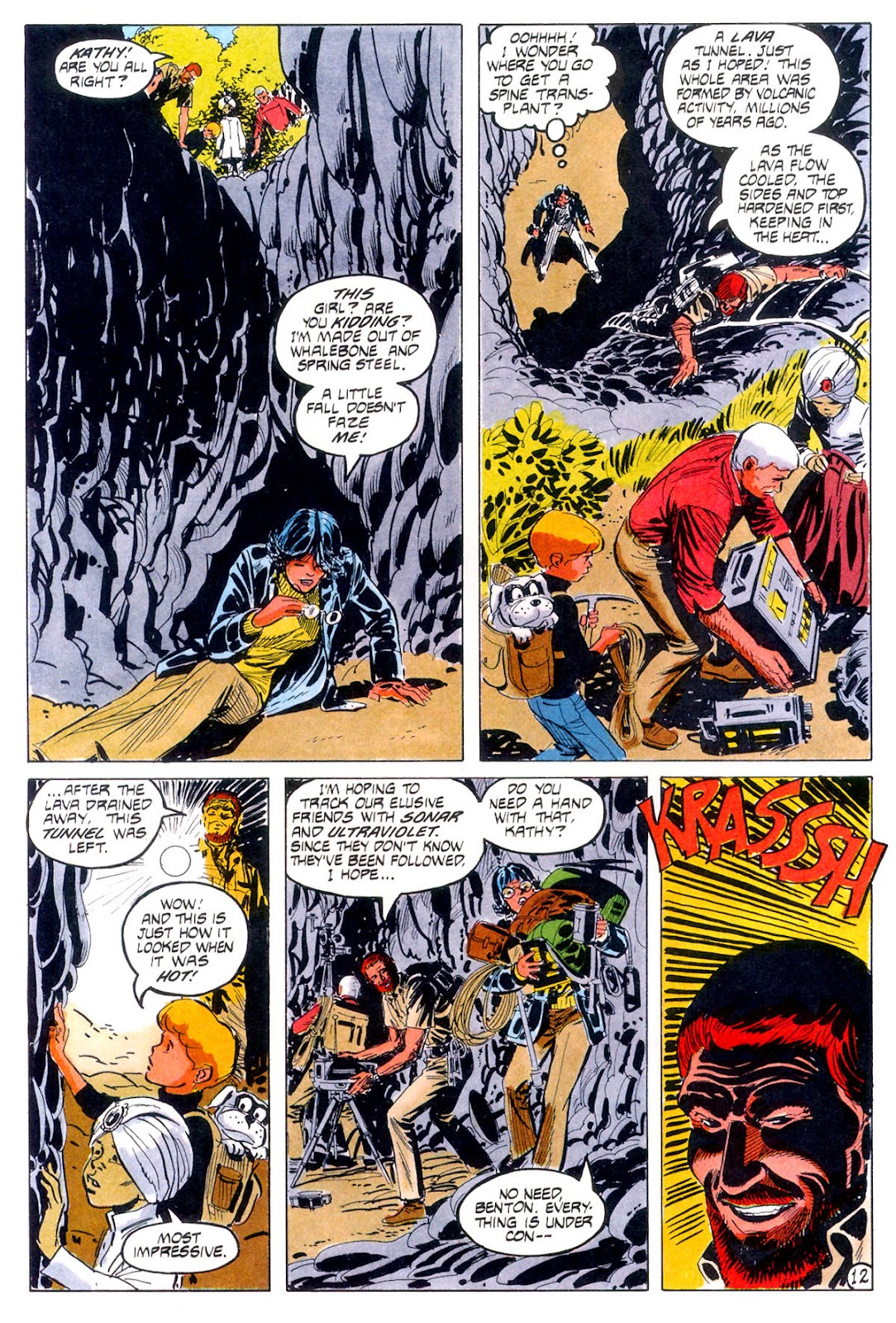 Jonny Quest (1986) issue 12 - Page 15