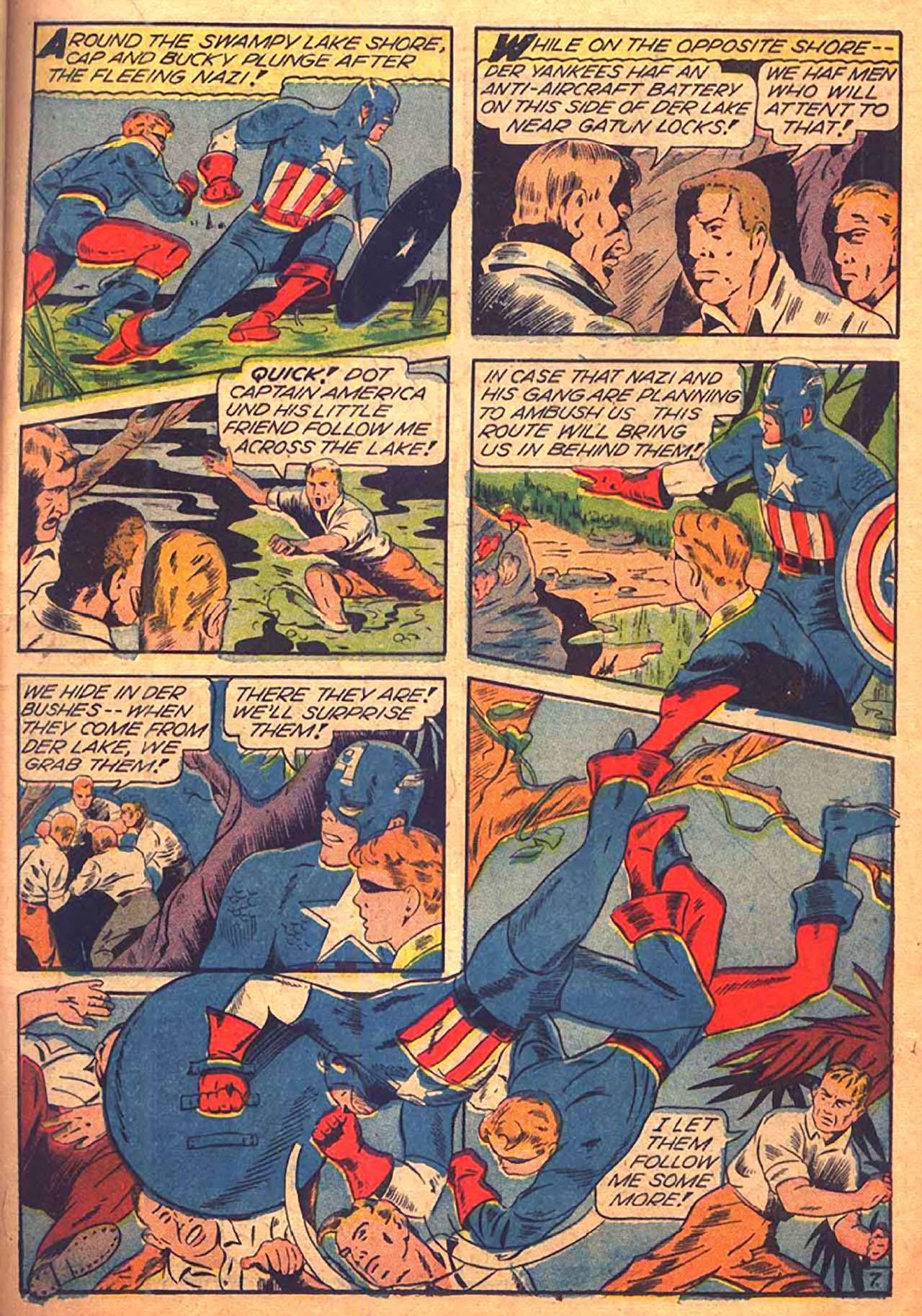 Read online All-Winners Comics comic -  Issue #9 - 22