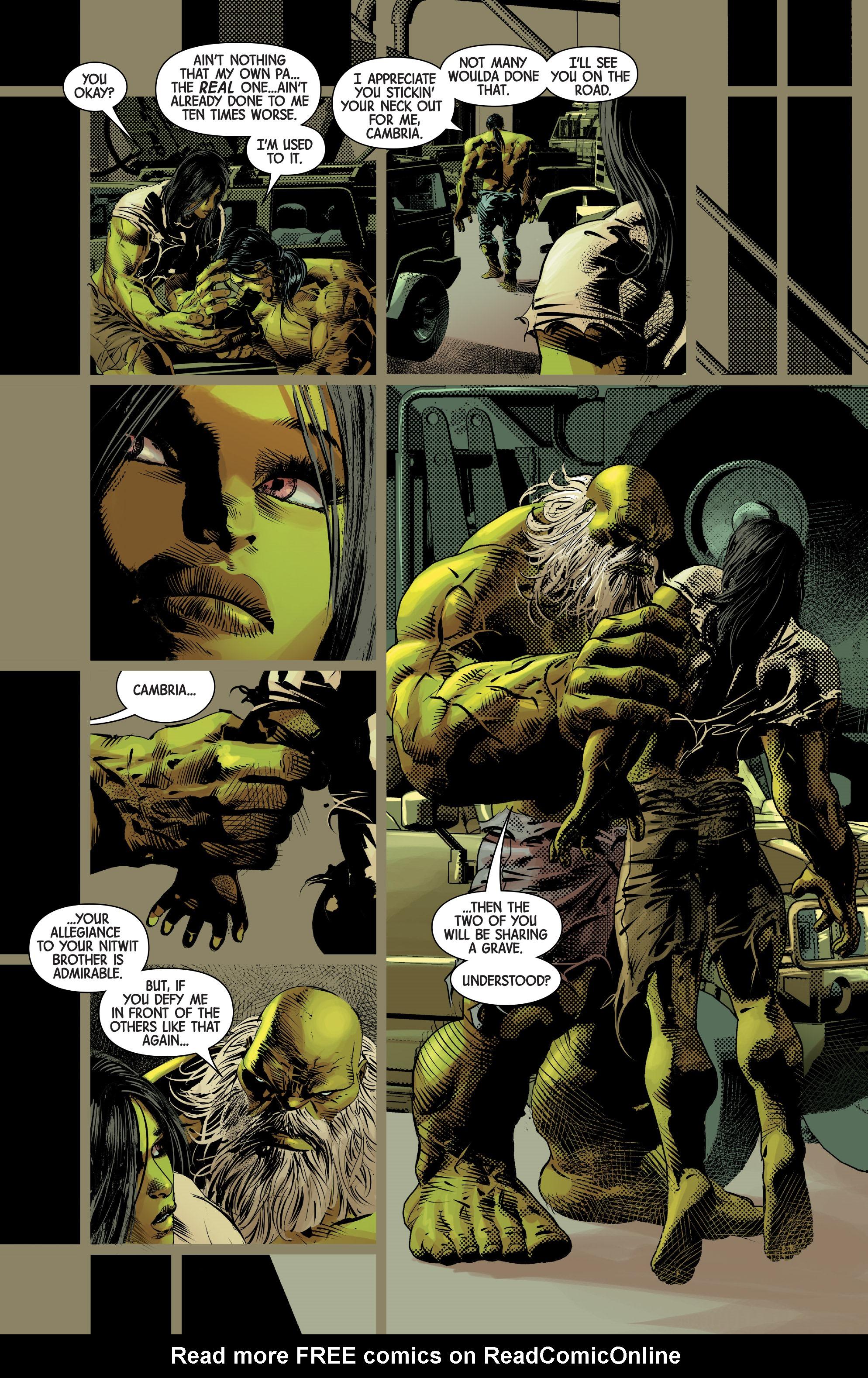 Read online Old Man Logan (2016) comic -  Issue #25 - 20