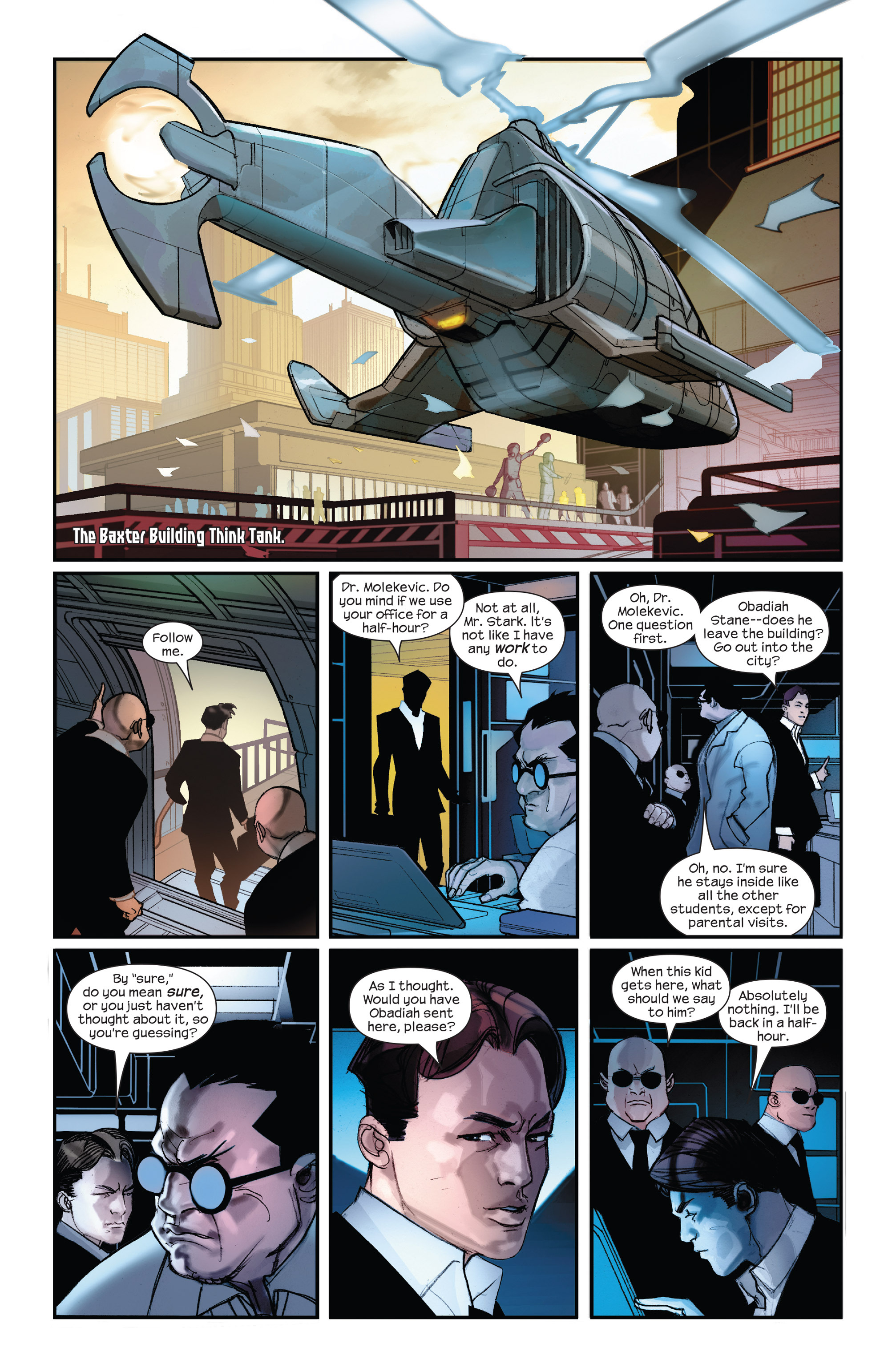 Read online Ultimate Iron Man II comic -  Issue #1 - 8