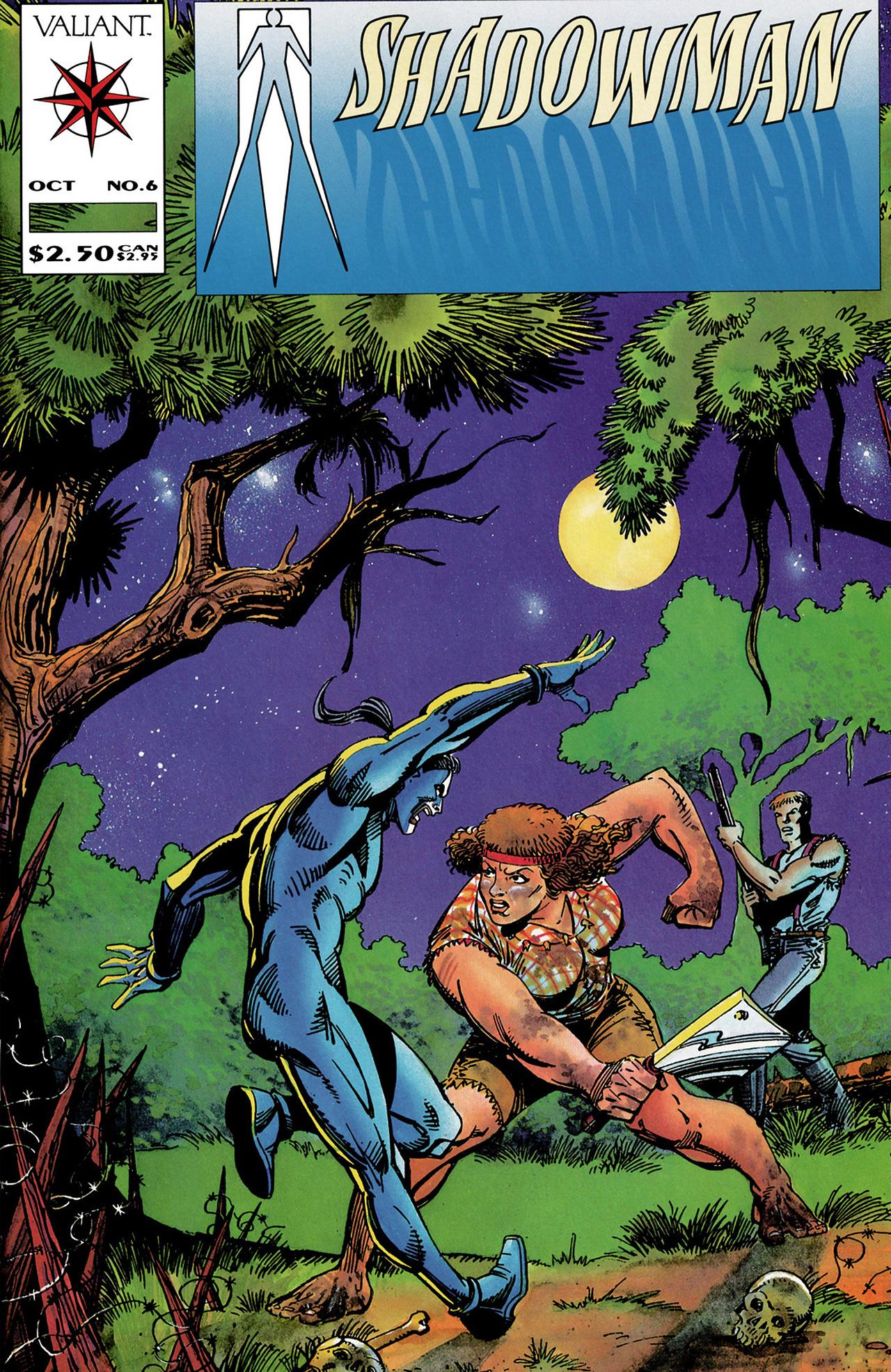Read online Shadowman (1992) comic -  Issue #6 - 1
