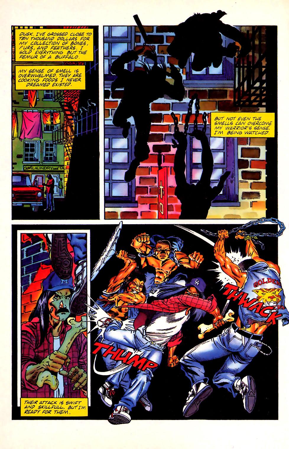 Read online Turok, Dinosaur Hunter (1993) comic -  Issue #11 - 16