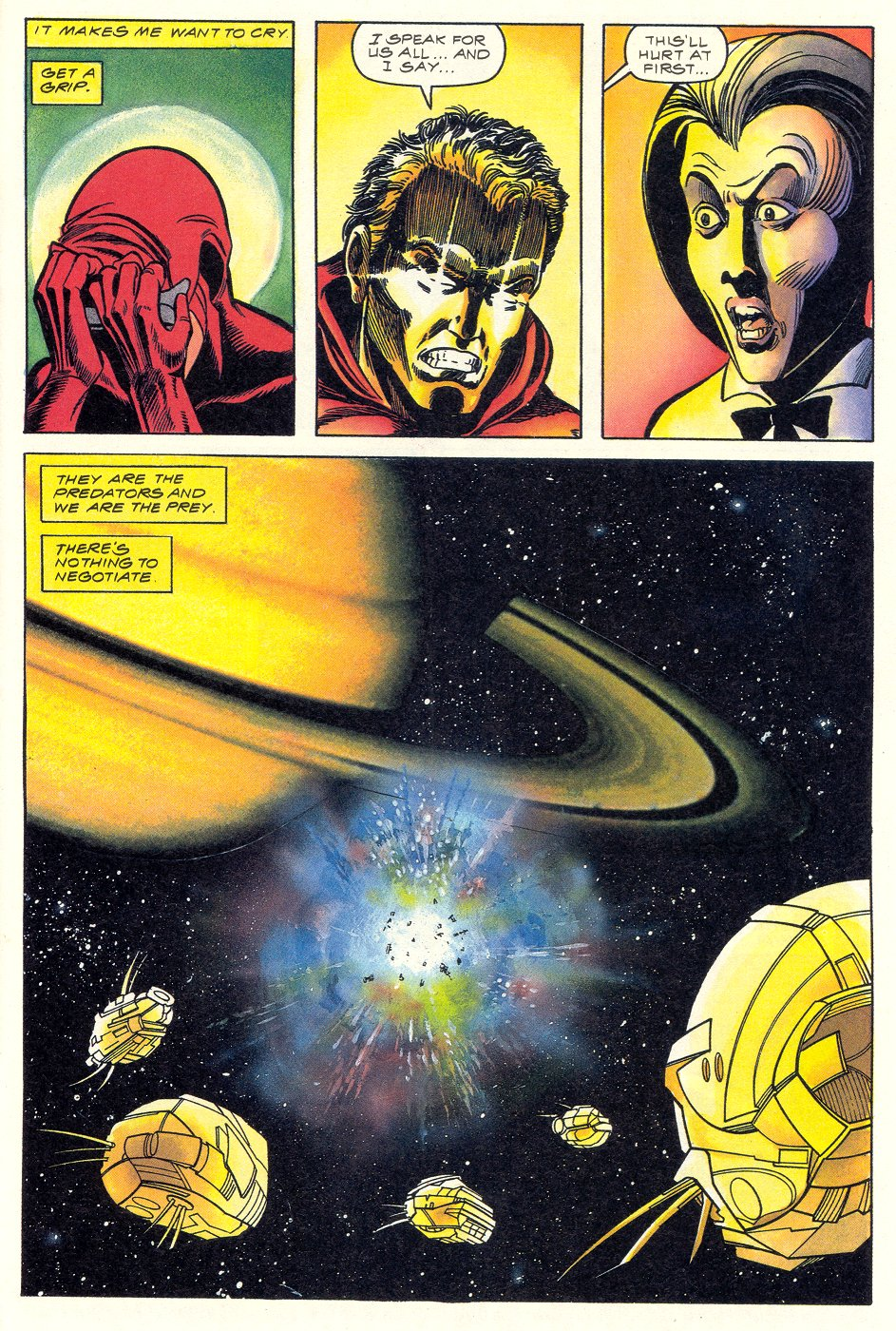 Read online Solar, Man of the Atom comic -  Issue #6 - 33