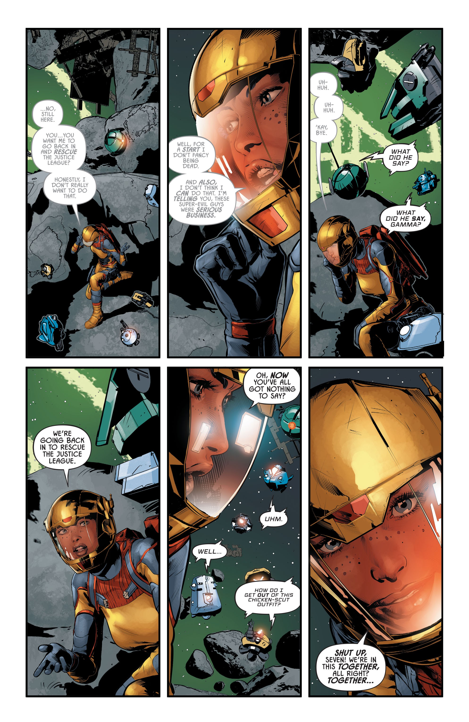 Justice League Odyssey #17 #17 - English 6