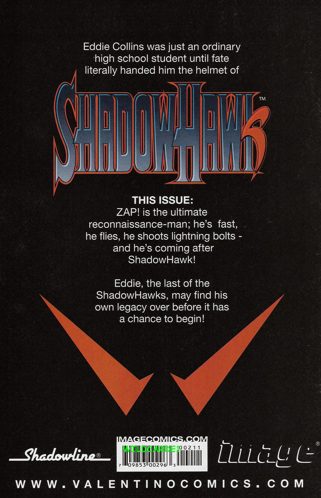 Read online ShadowHawk (2005) comic -  Issue #2 - 32