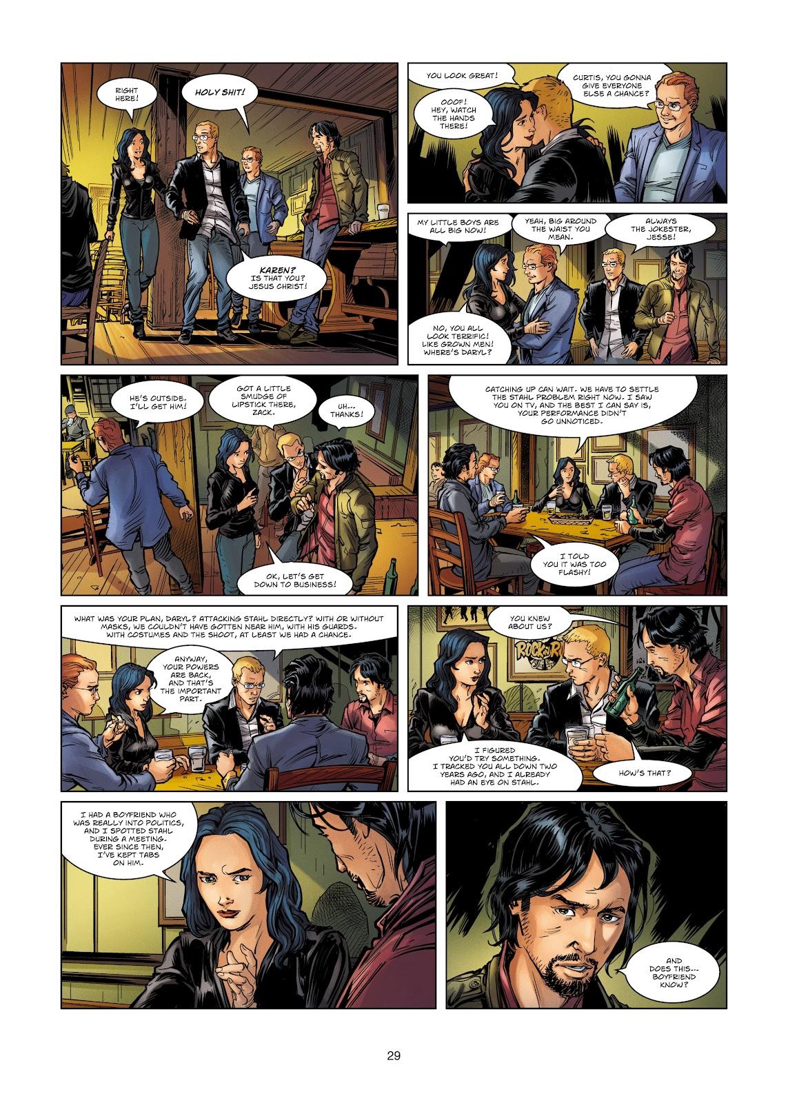 Read online Vigilantes comic -  Issue #4 - 29