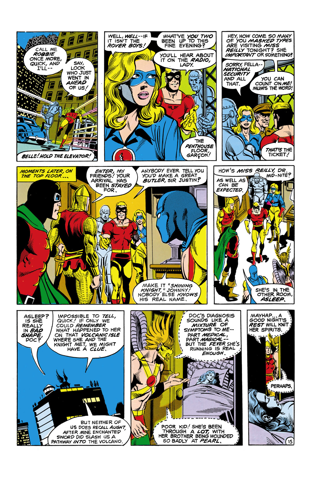 Read online All-Star Squadron comic -  Issue #5 - 16