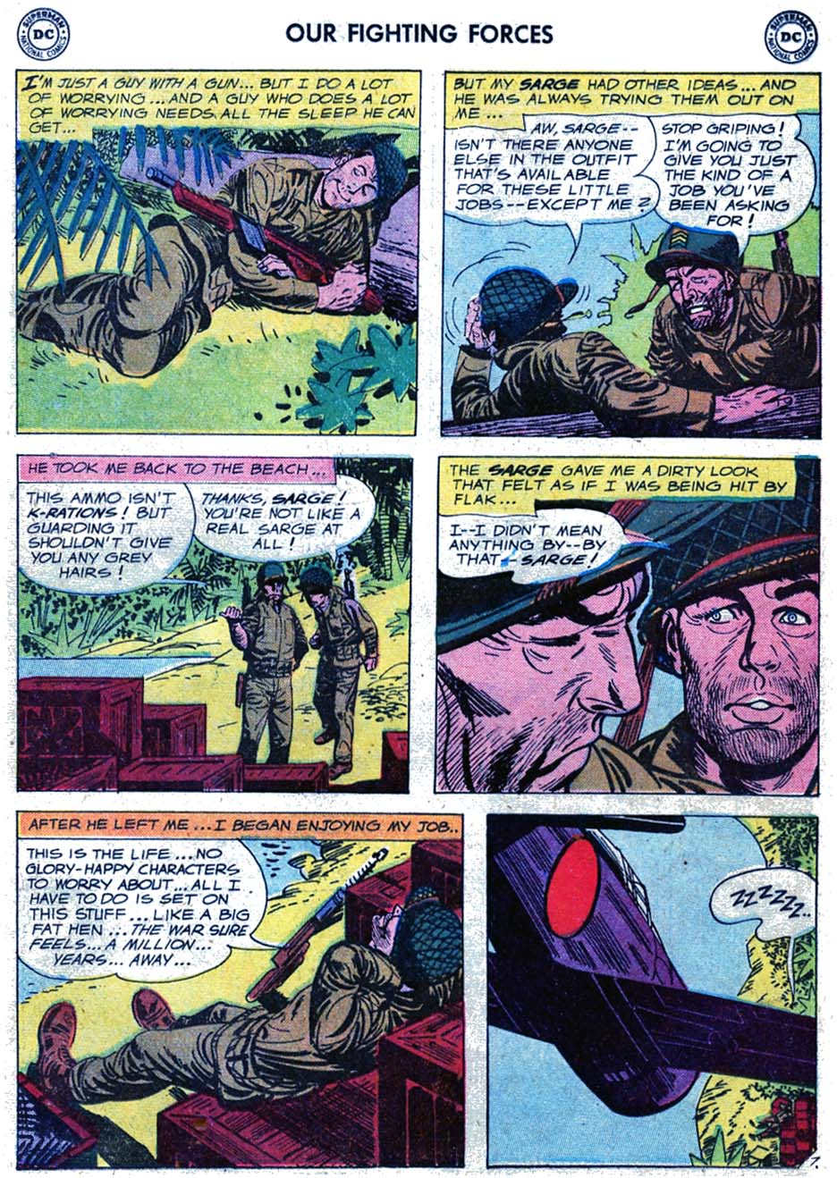 Our Fighting Forces (1954) issue 46 - Page 9