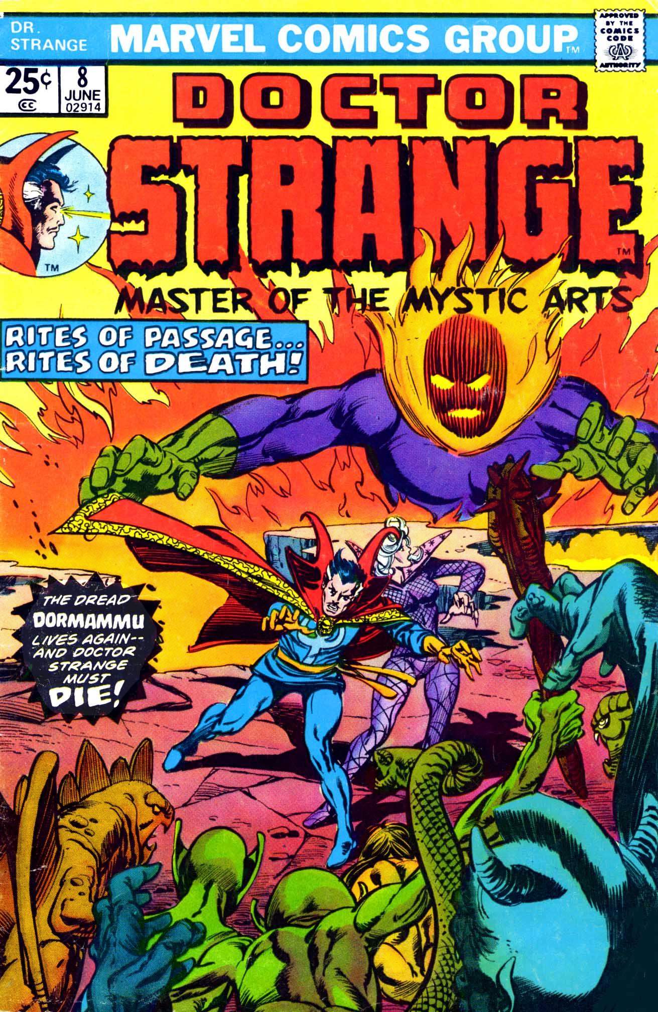 Doctor Strange (1974) 8 Page 1