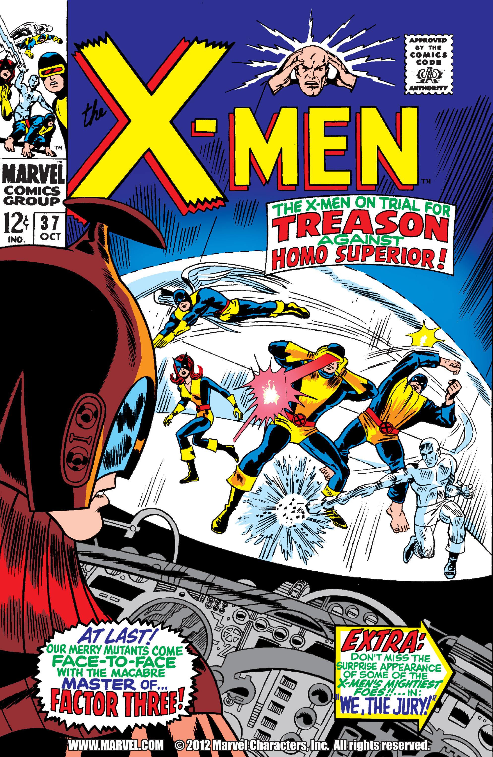 Uncanny X-Men (1963) 37 Page 1