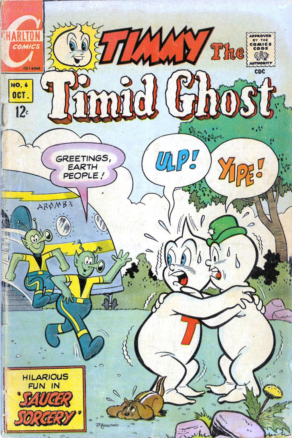 Timmy the Timid Ghost 6 Page 1