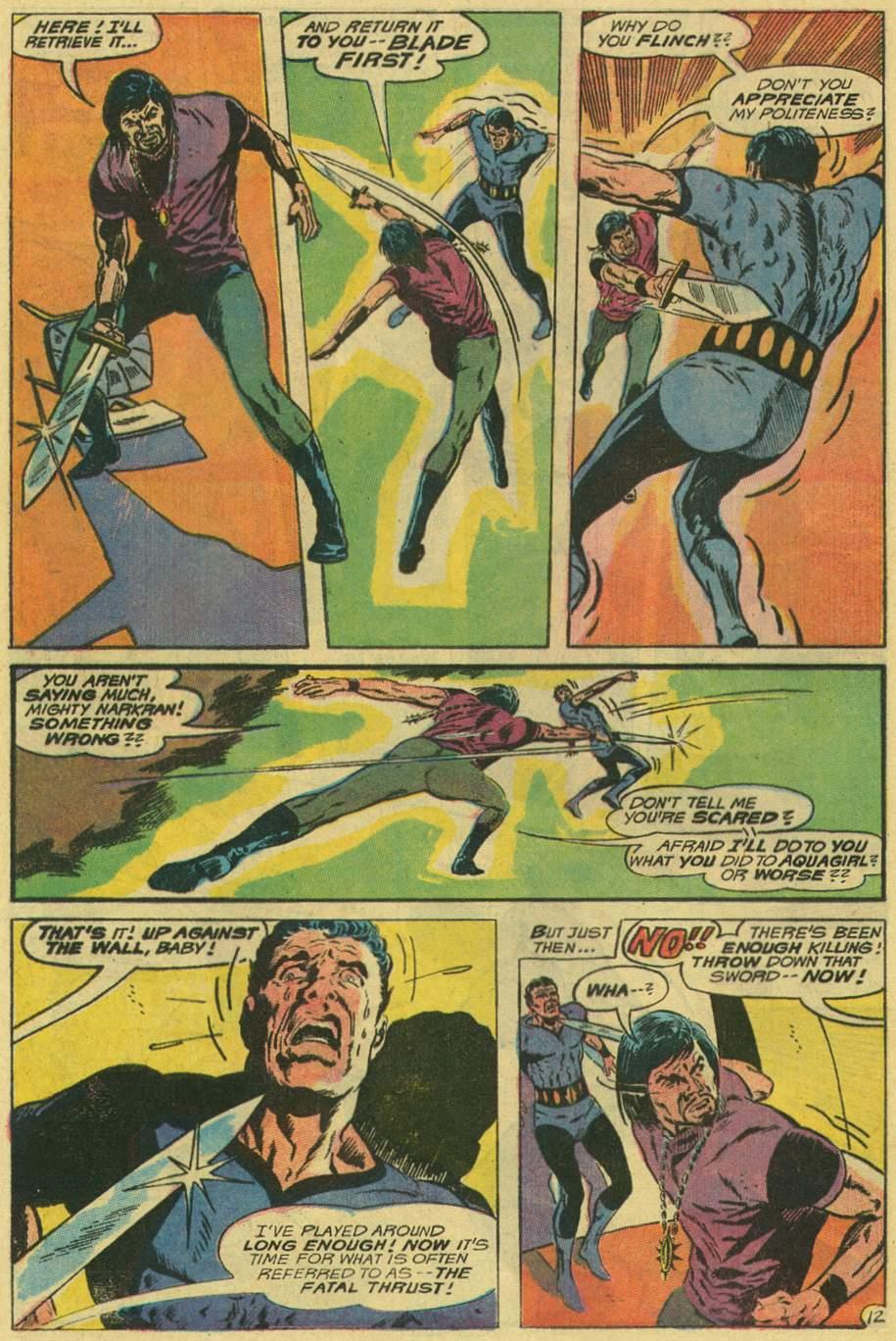 Read online Aquaman (1962) comic -  Issue #48 - 16