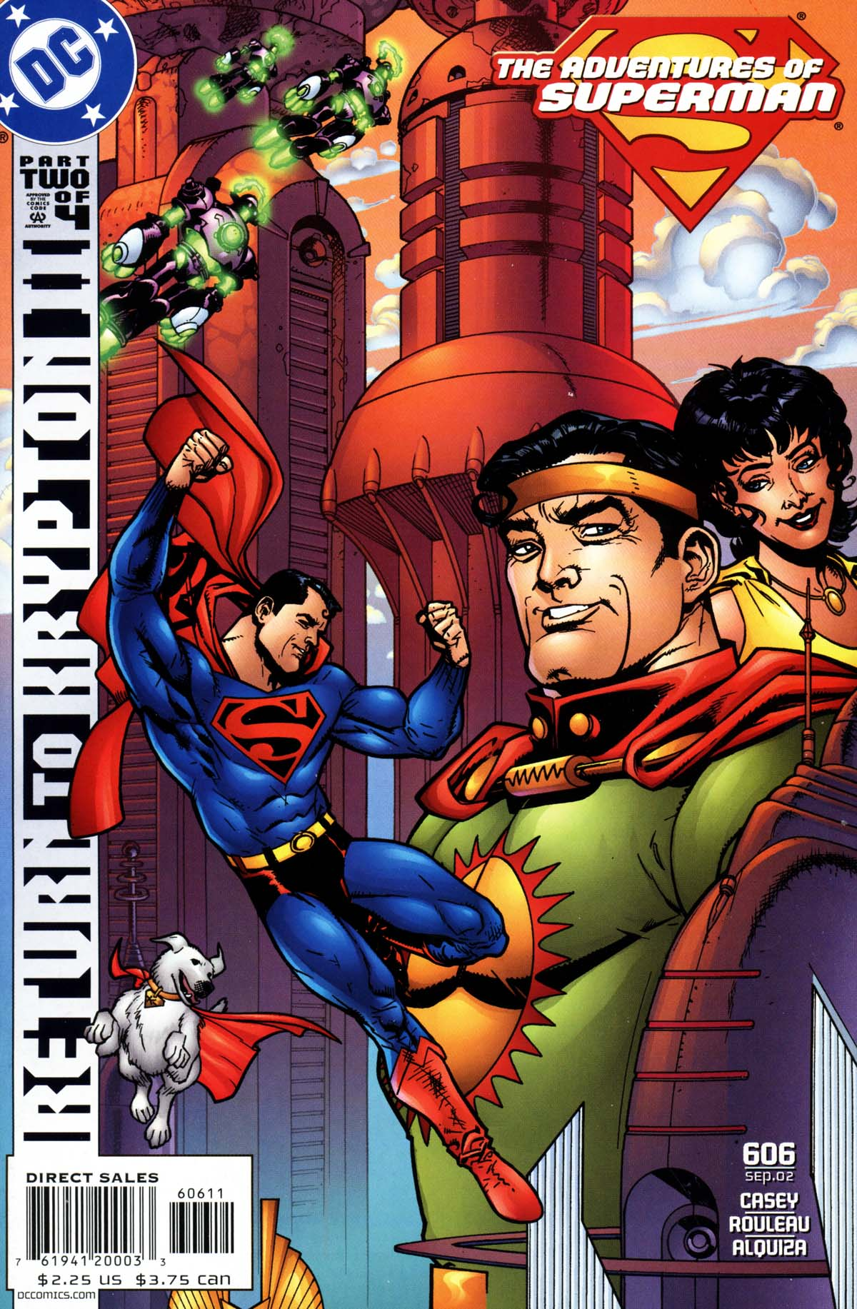 Read online Adventures of Superman (1987) comic -  Issue #606 - 1