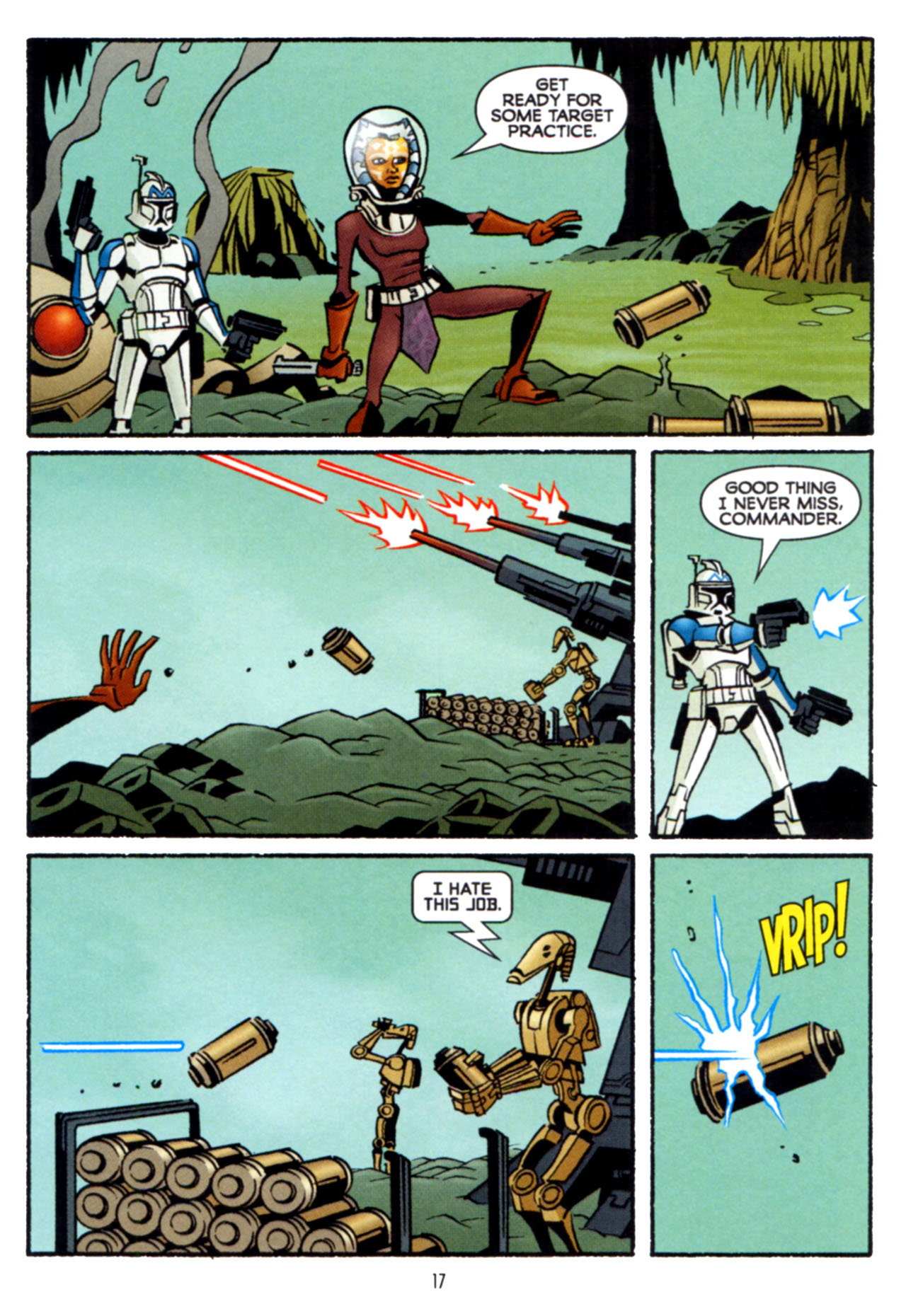 Read online Star Wars: The Clone Wars - Crash Course comic -  Issue # Full - 18