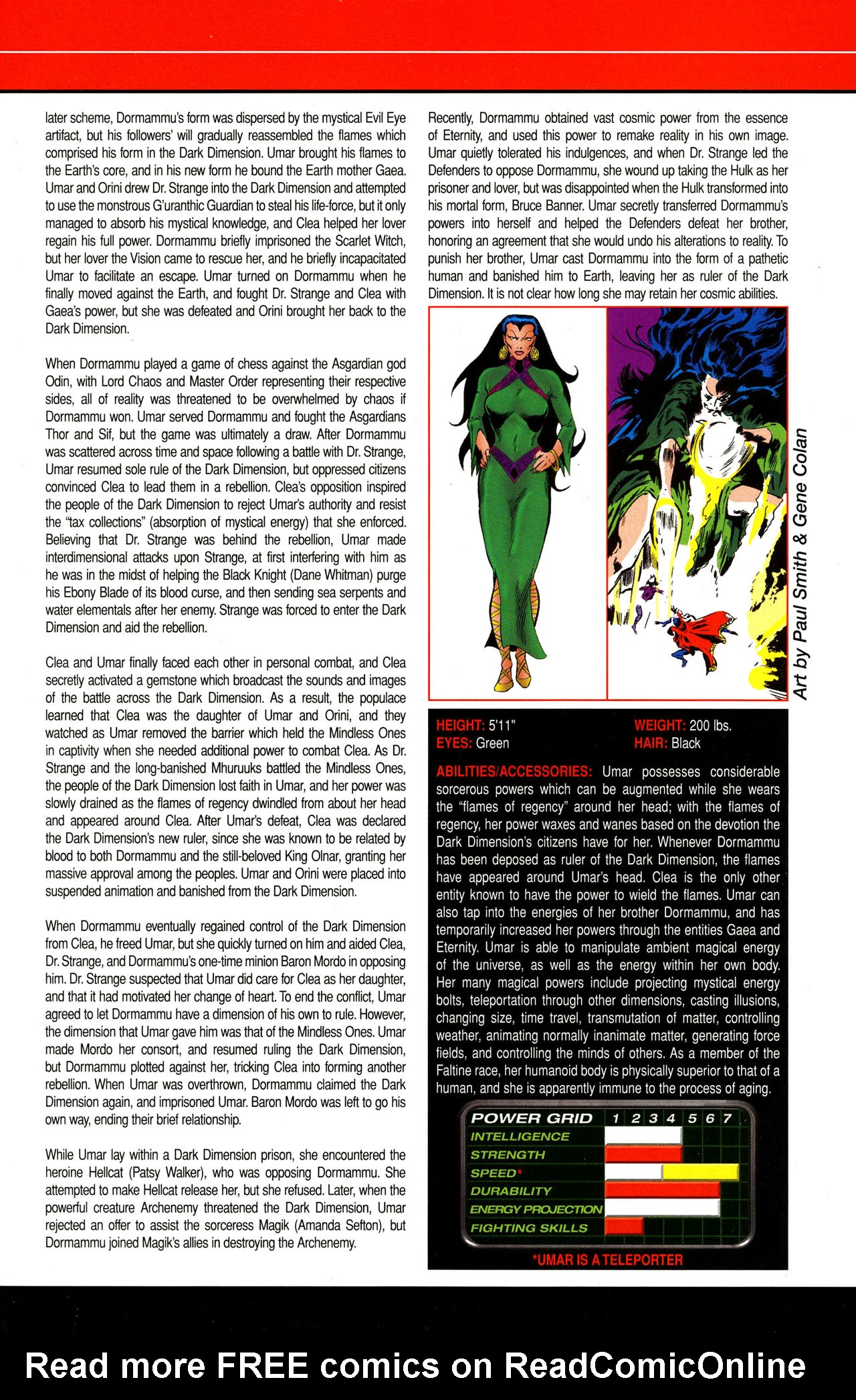 Read online All-New Official Handbook of the Marvel Universe A to Z comic -  Issue #12 - 5