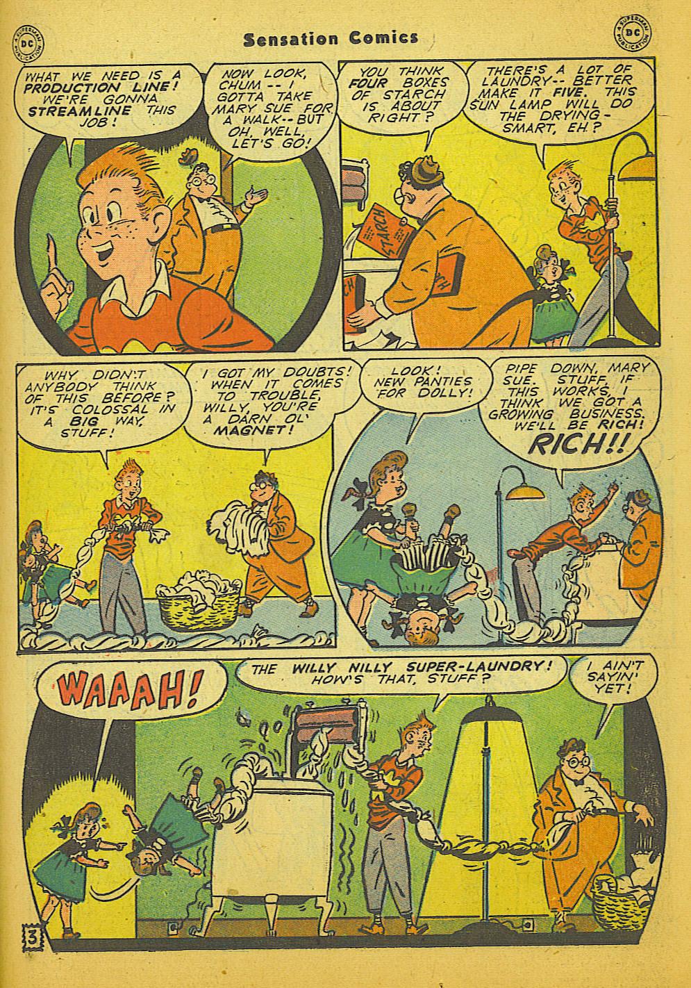 Read online Sensation (Mystery) Comics comic -  Issue #66 - 35