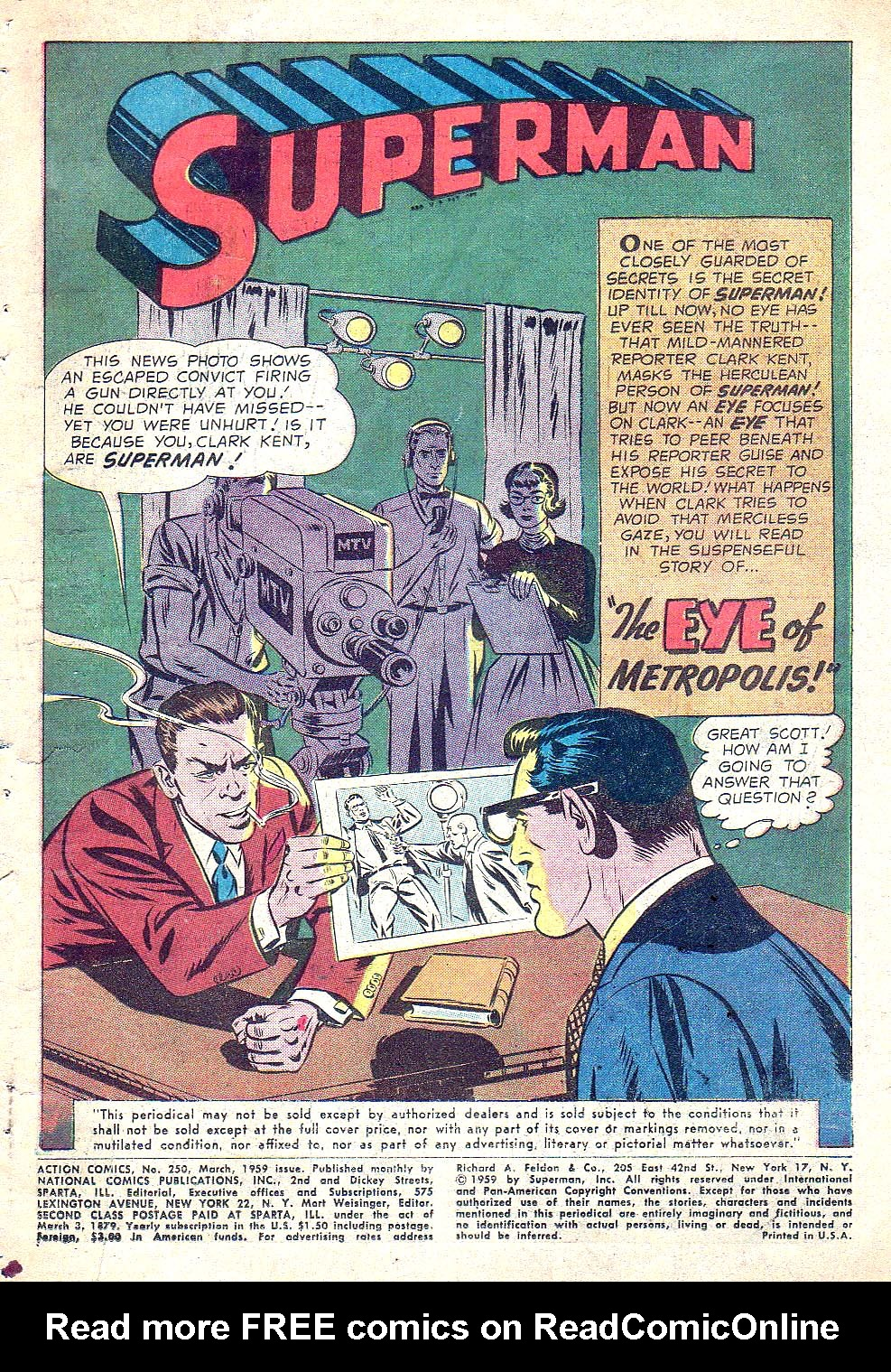 Read online Action Comics (1938) comic -  Issue #250 - 3