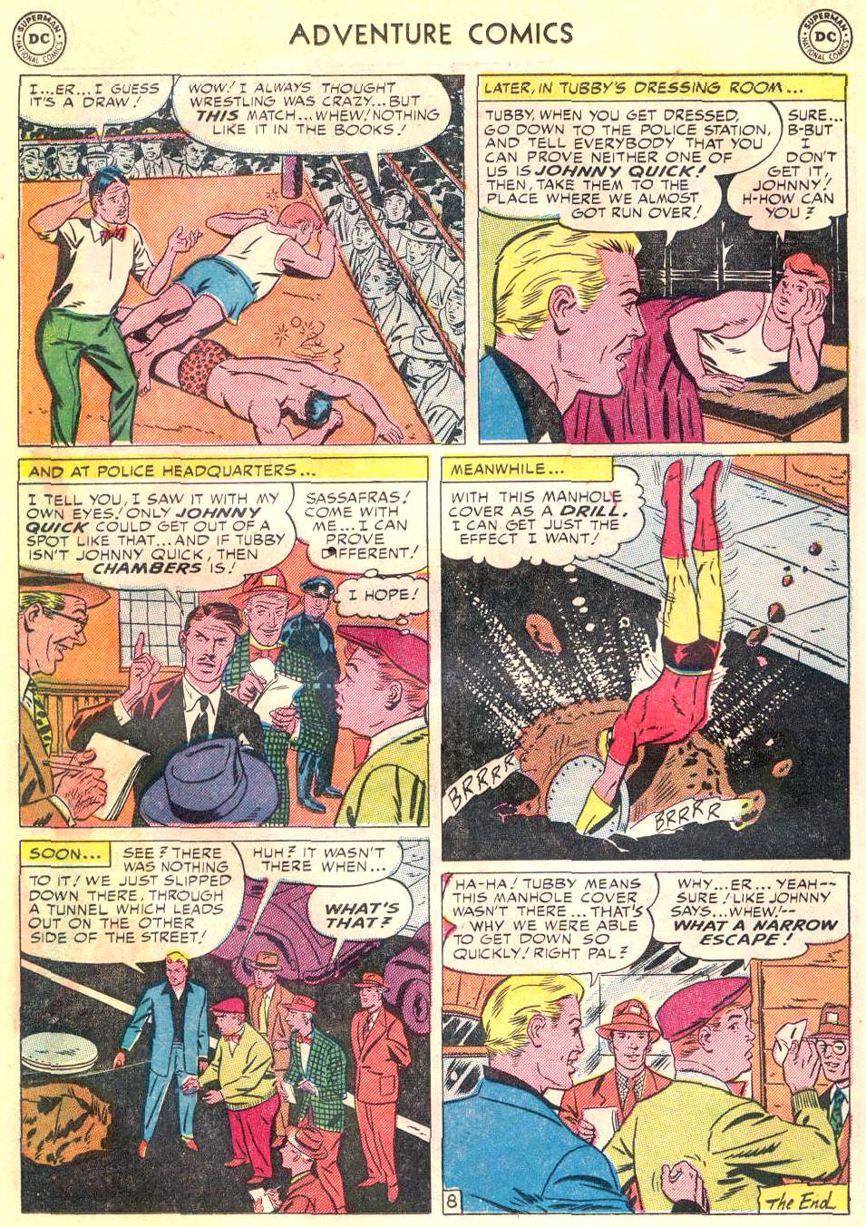 Read online Adventure Comics (1938) comic -  Issue #166 - 27