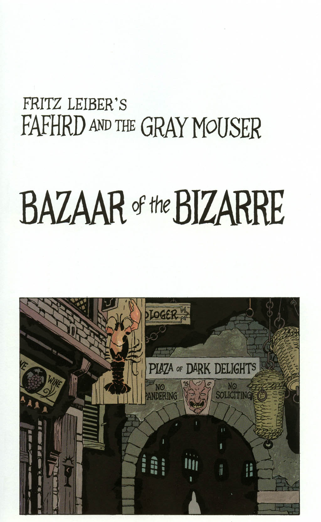 Read online Fafhrd and the Gray Mouser comic -  Issue #3 - 23