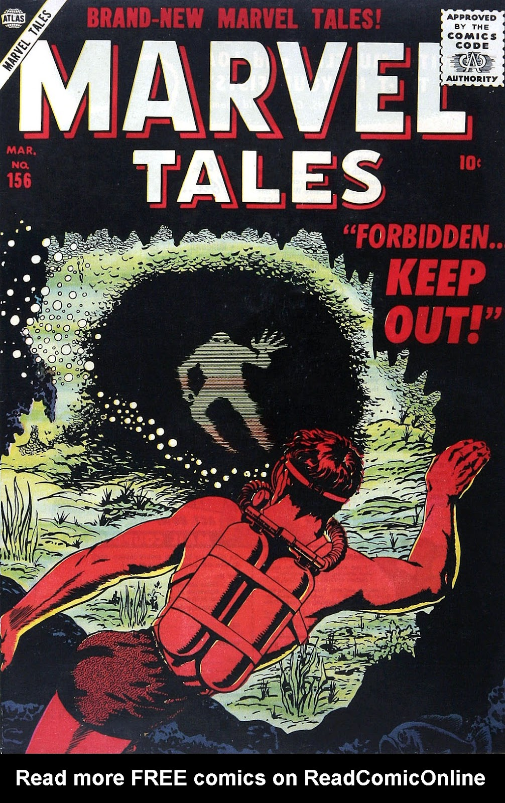 Marvel Tales (1949) issue 156 - Page 1
