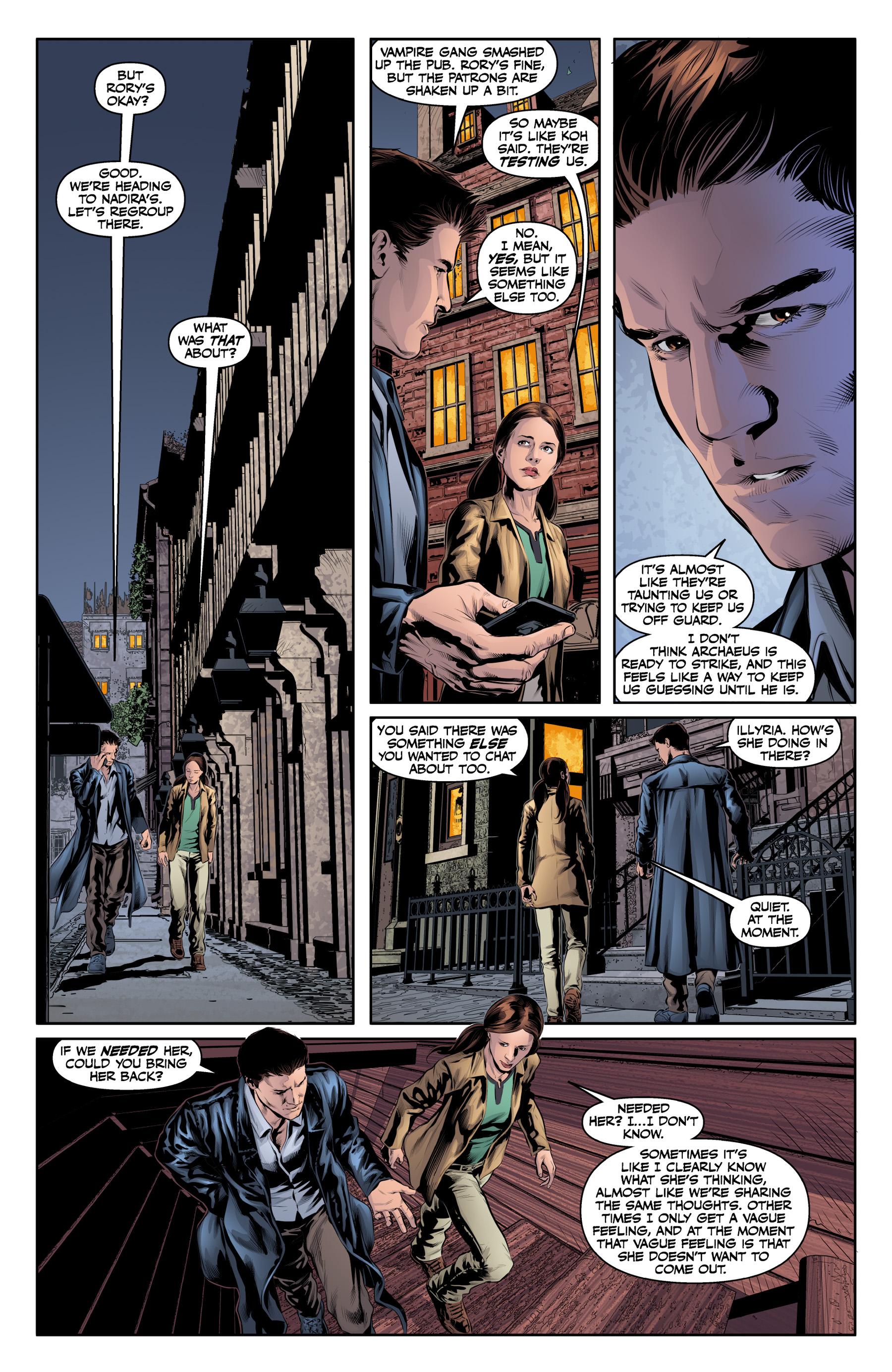 Read online Angel & Faith Season 10 comic -  Issue #19 - 16