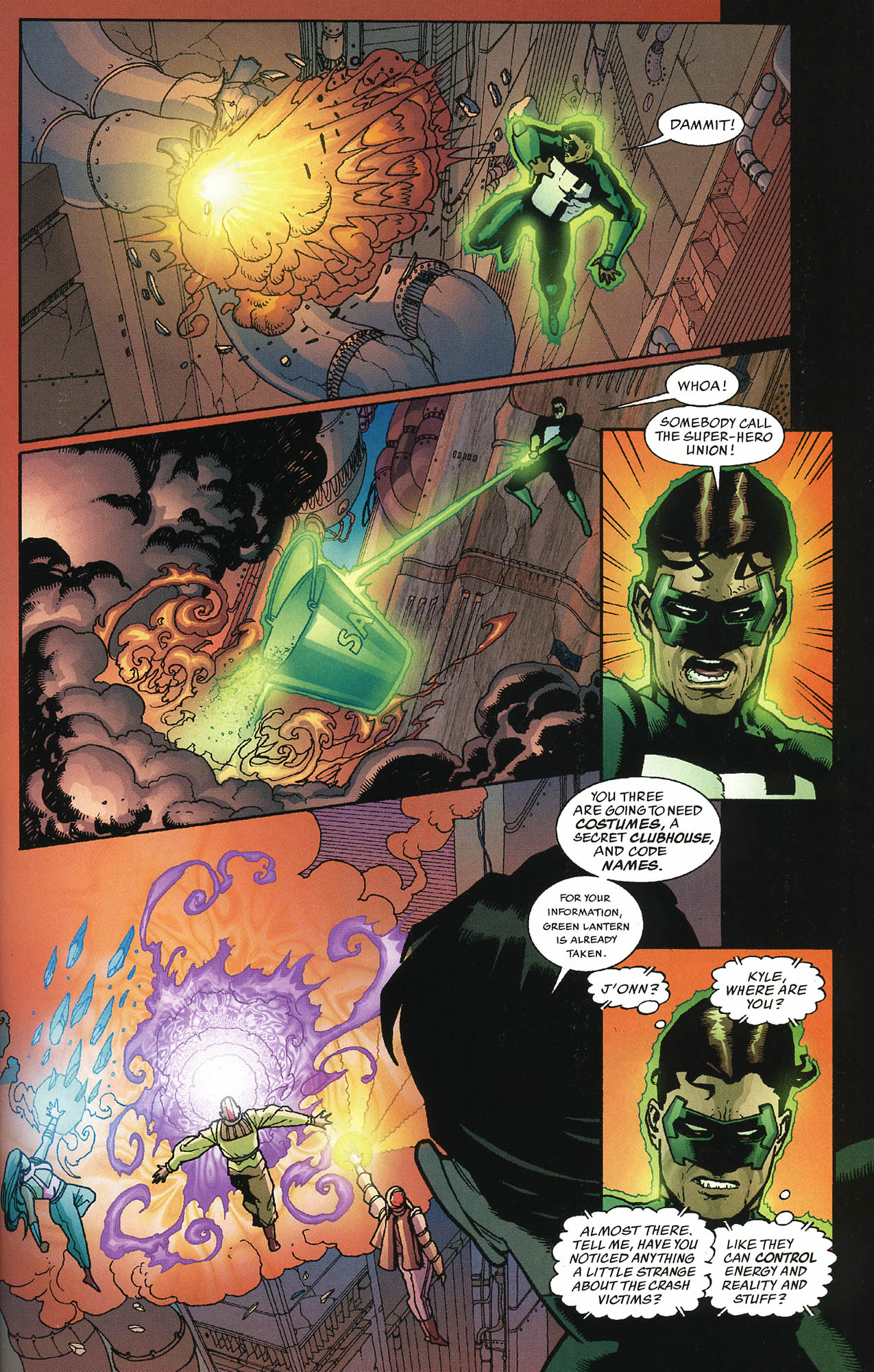 Read online JLA/Haven: Arrival comic -  Issue # Full - 36