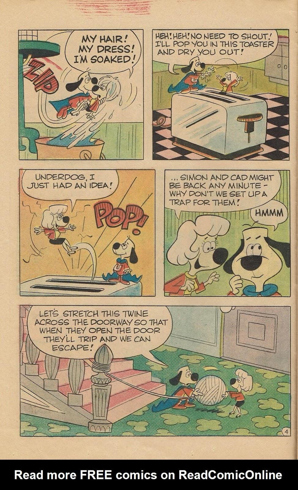 Underdog (1970) issue 6 - Page 12