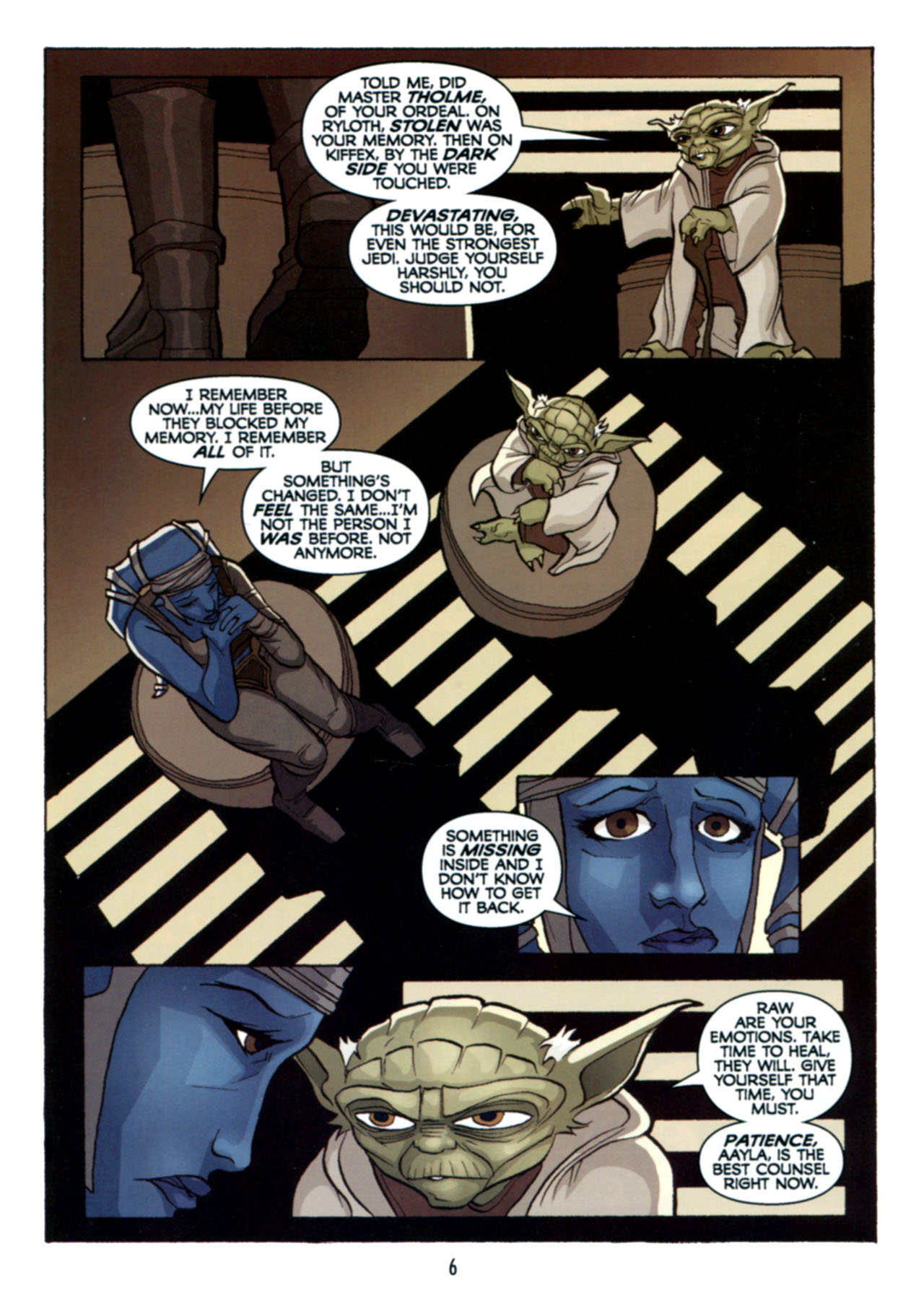 Read online Star Wars: The Clone Wars - Deadly Hands of Shon-Ju comic -  Issue # Full - 7