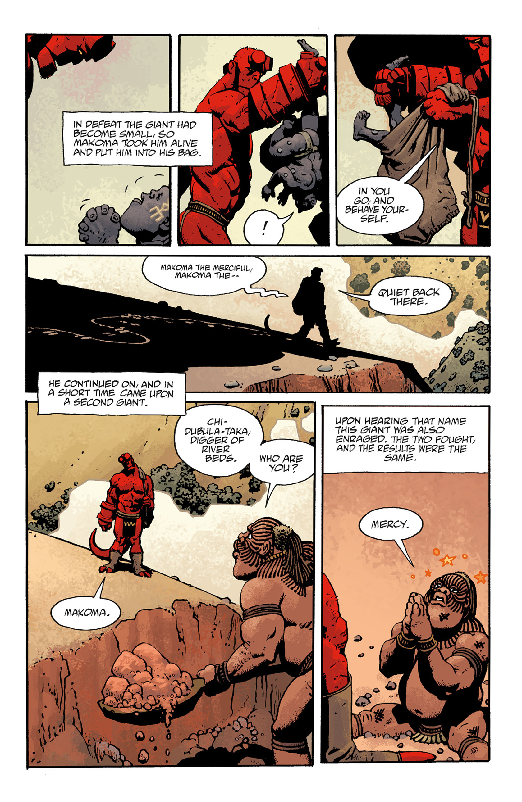 Read online Hellboy: The Troll Witch and Others comic -  Issue # TPB - 97