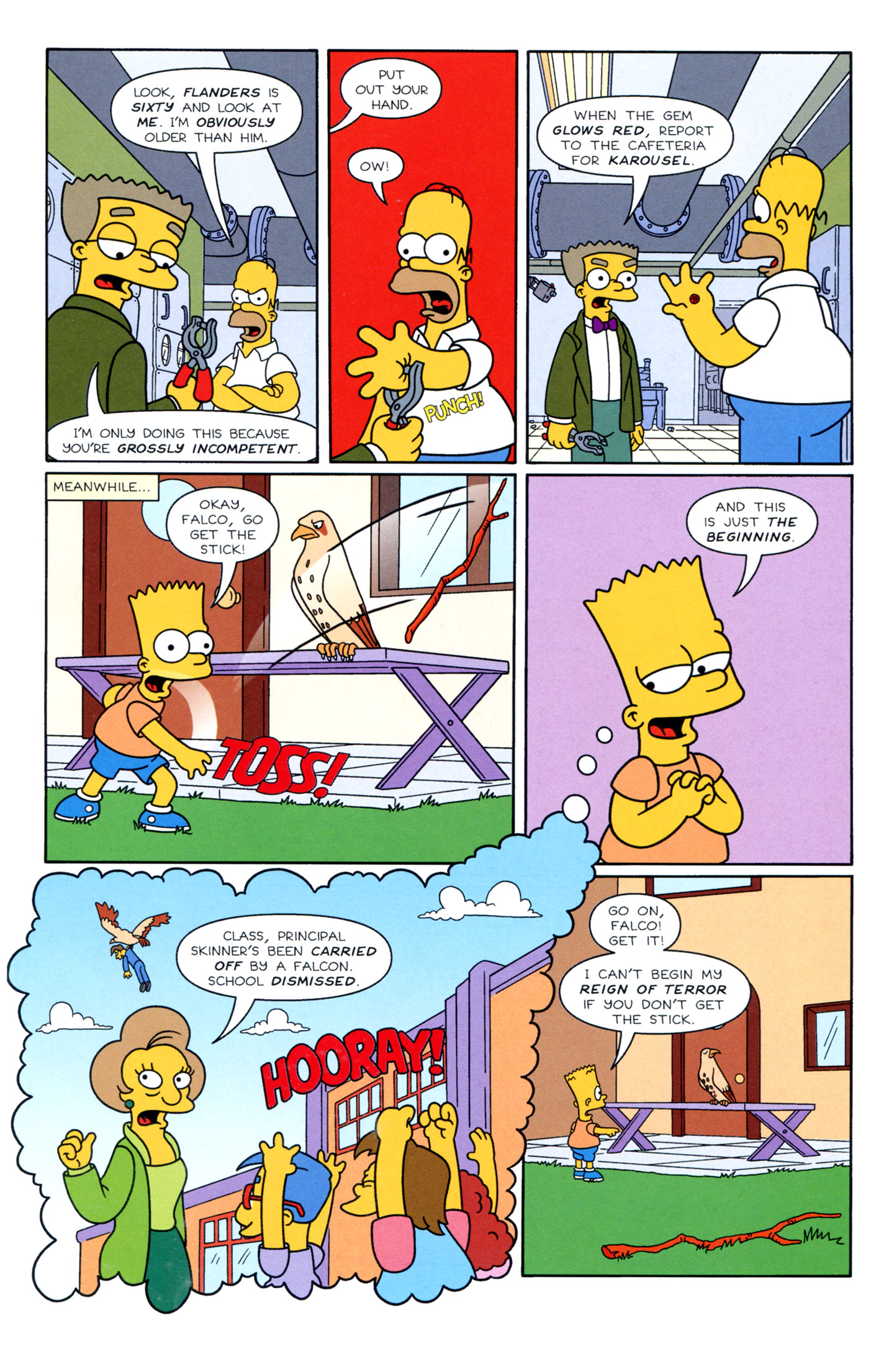 Read online Simpsons Illustrated (1991) comic -  Issue #3 - 9