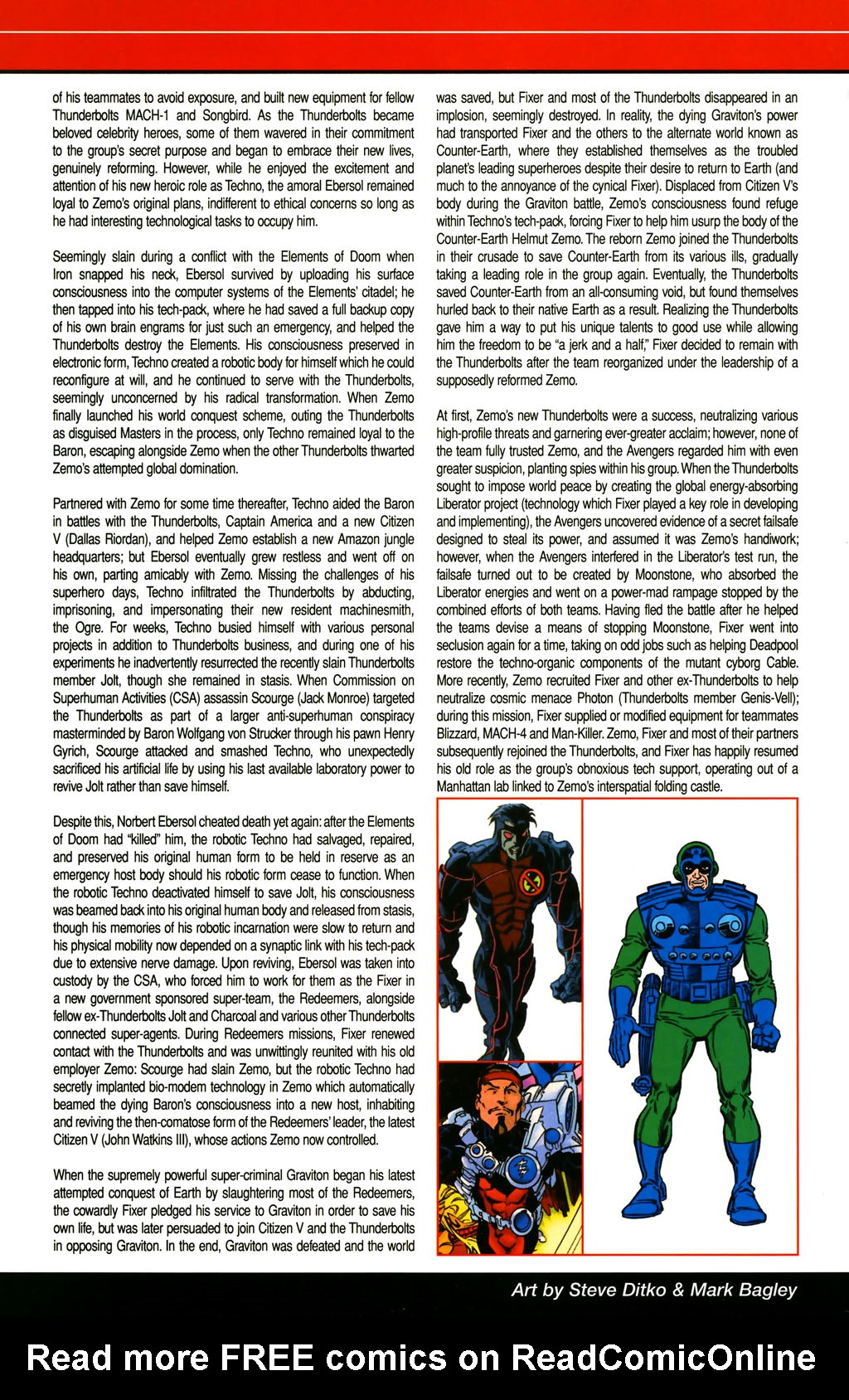 Read online All-New Official Handbook of the Marvel Universe A to Z comic -  Issue #4 - 36