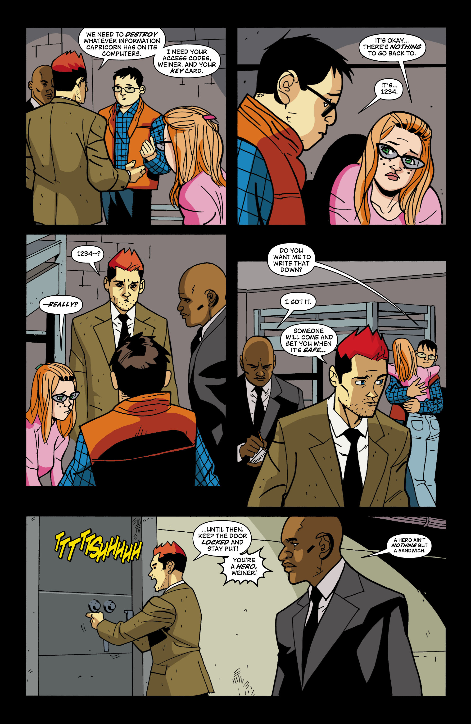 Read online Red Herring comic -  Issue #4 - 17