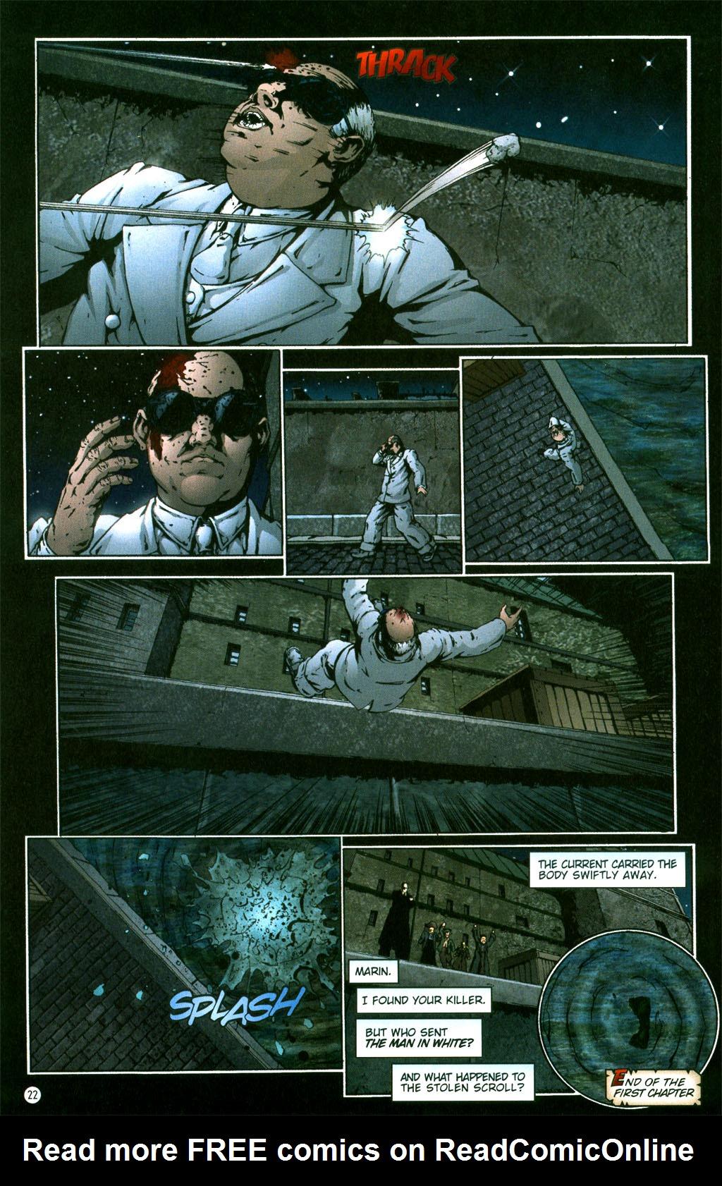 Read online Rex Mundi comic -  Issue #5 - 24