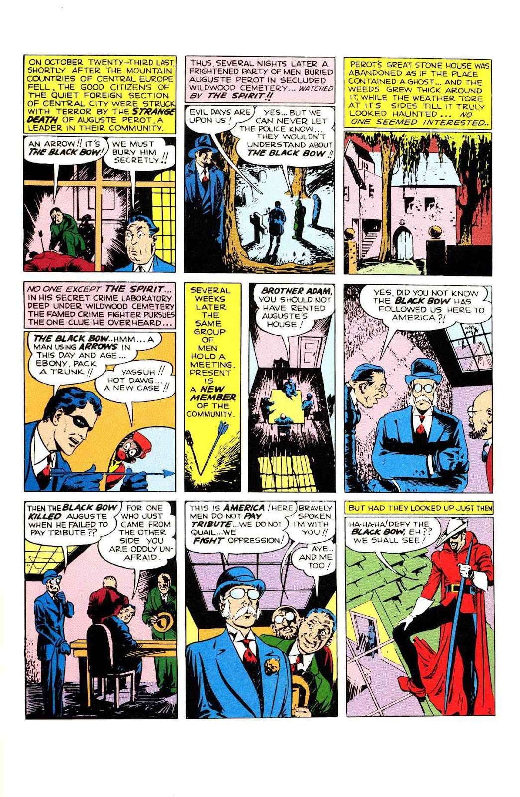 Read online Will Eisner's The Spirit Archives comic -  Issue # TPB 2 (Part 1) - 3