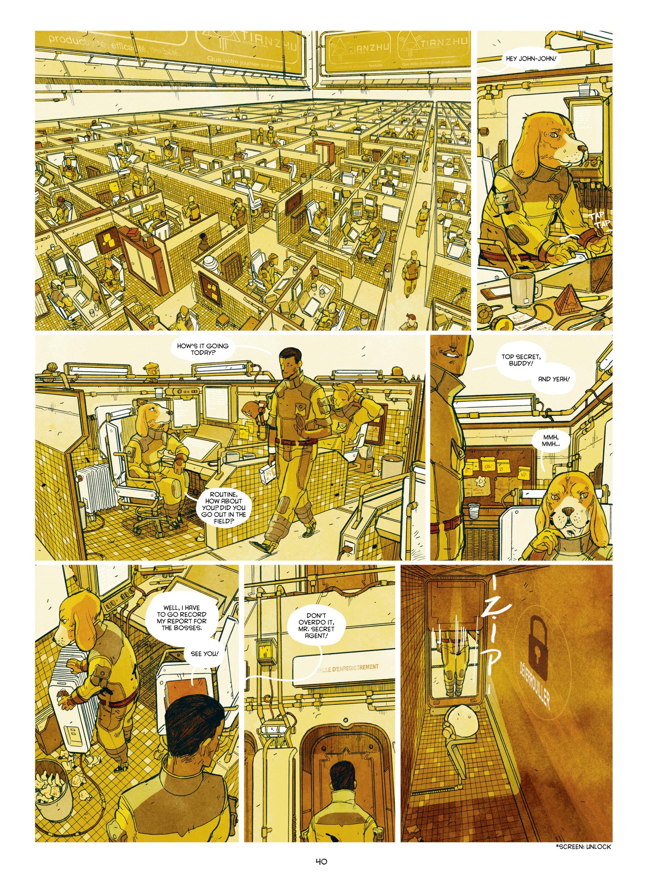 Read online Shangri-La comic -  Issue # Full - 42