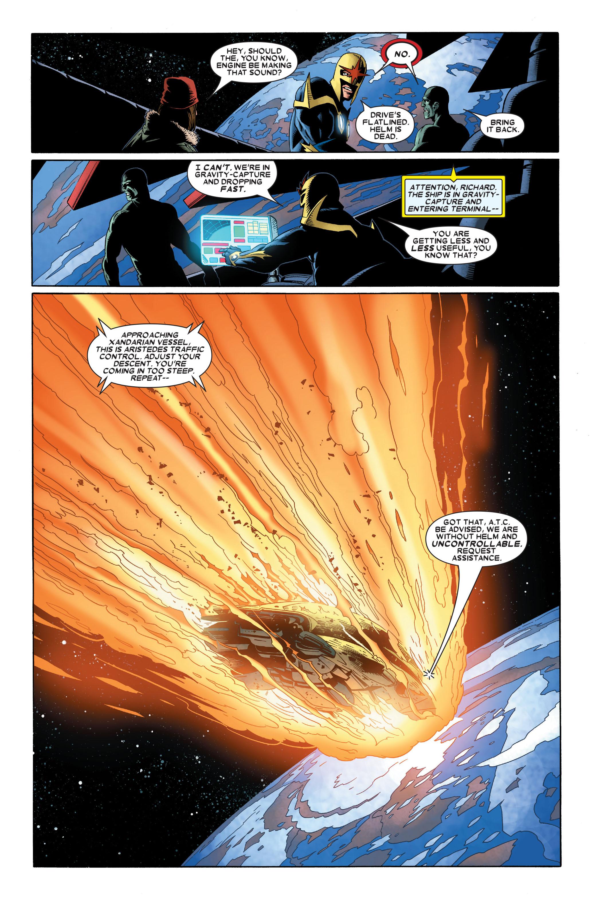 Read online Annihilation: Nova comic -  Issue #2 - 21