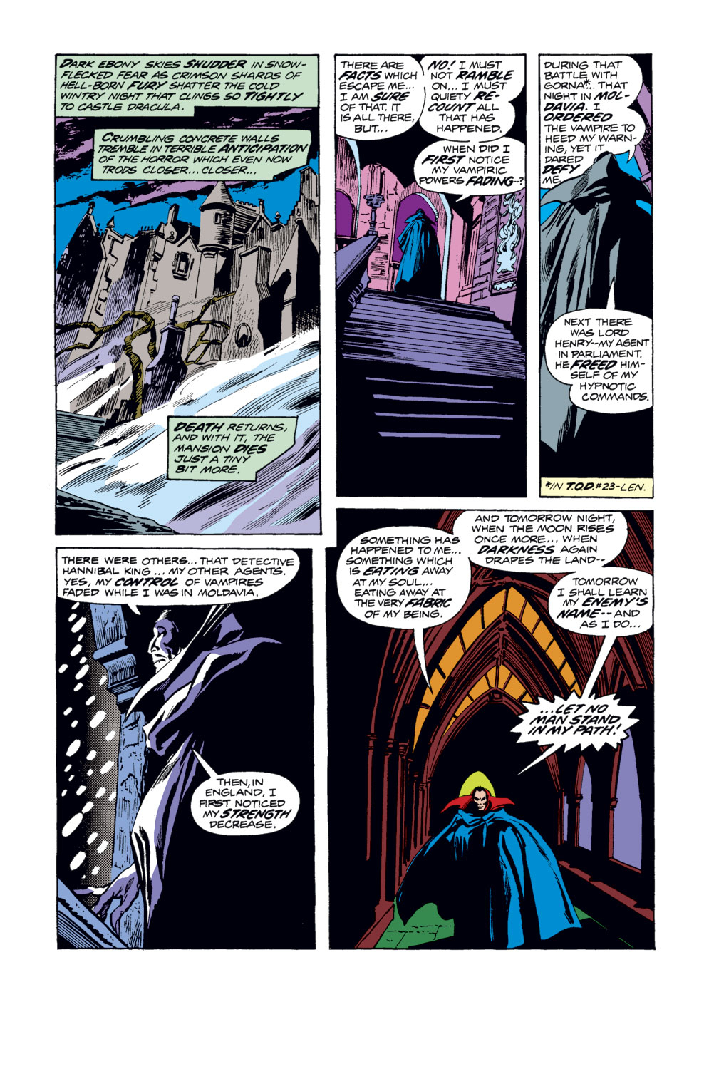 Tomb of Dracula (1972) issue 33 - Page 13
